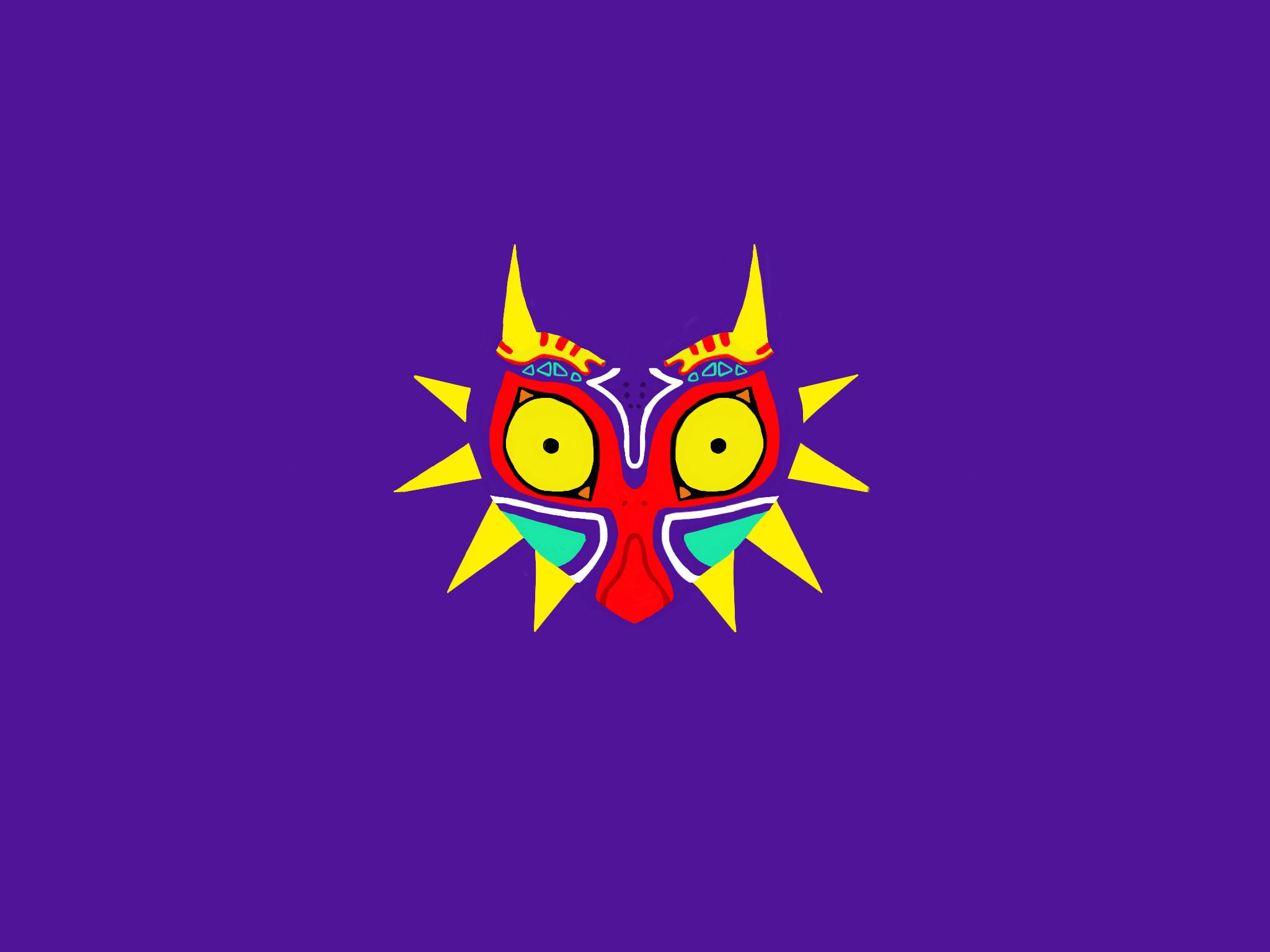 … Majora's Mask [Wallpaper] by theKuroKitsune