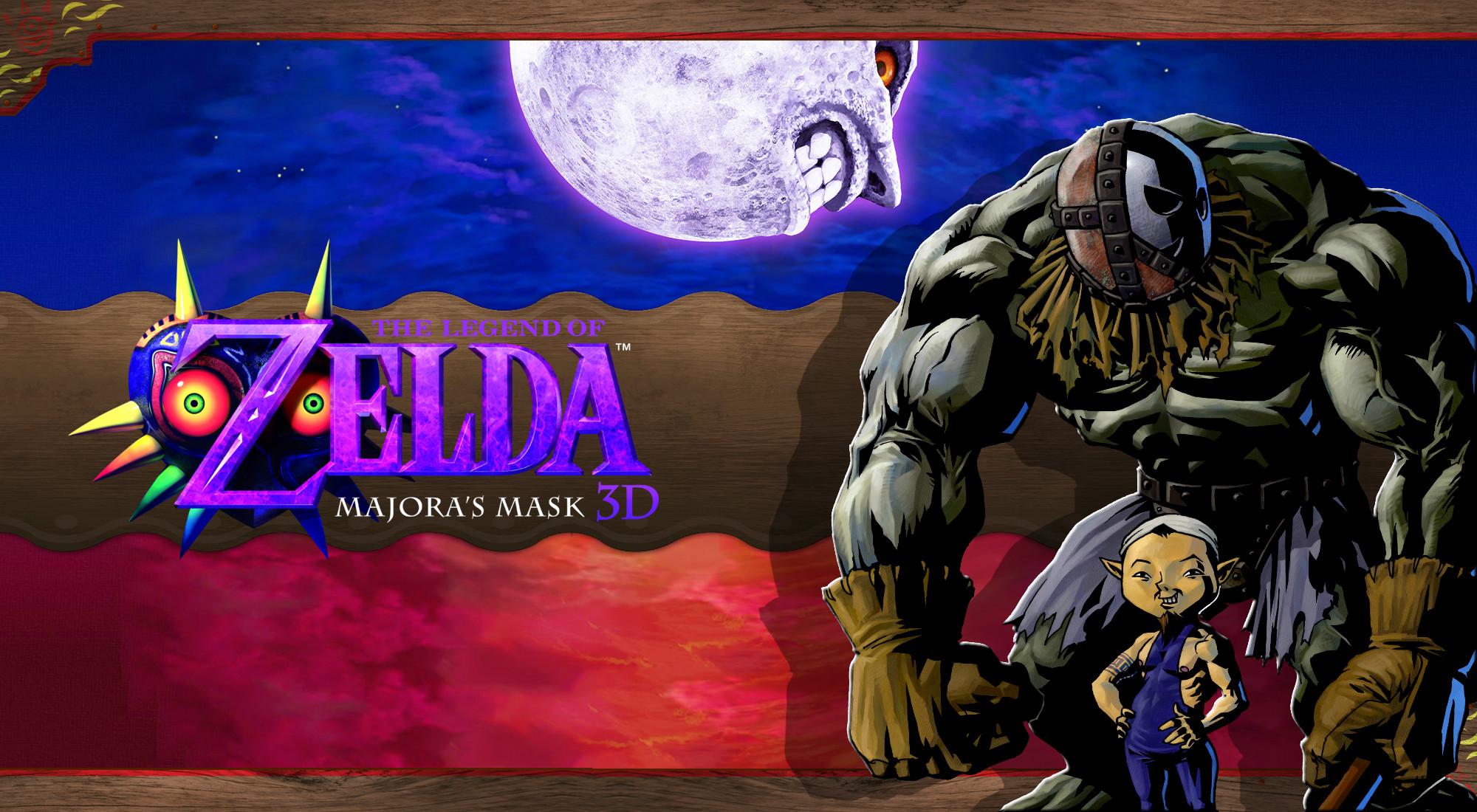 … Majora's Mask 3D Wallpaper – Zubora and Gabora by DaKidGaming