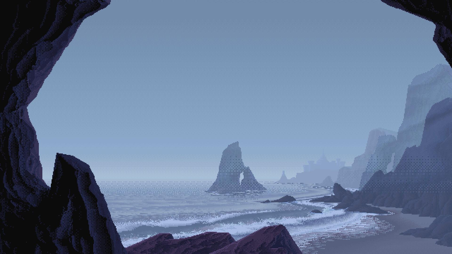 16-Bit Ocean View [1920×1080] …