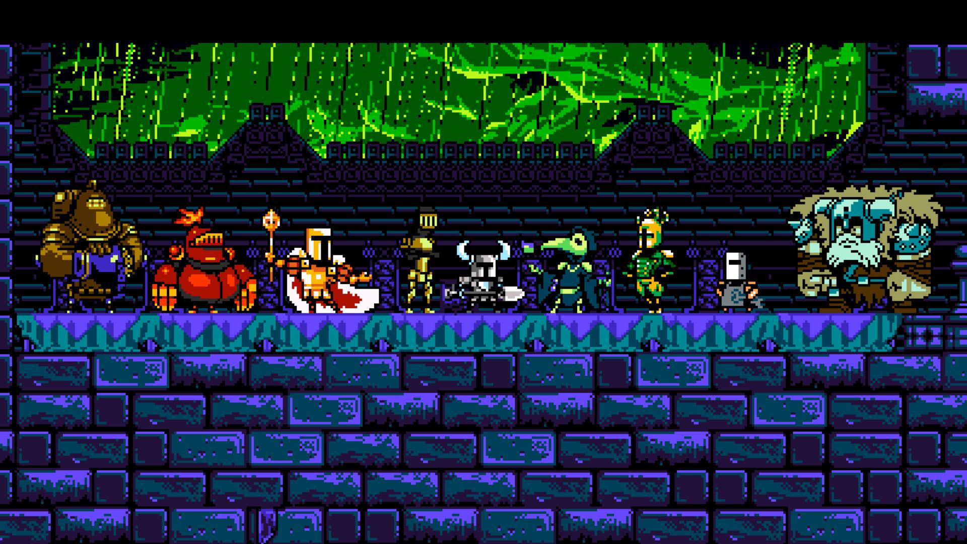 General Shovel Knight video games pixel art retro games 8-bit 16- bit