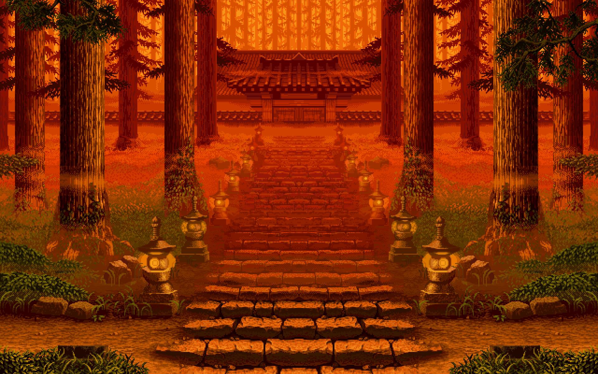 Pixel Art Wallpapers