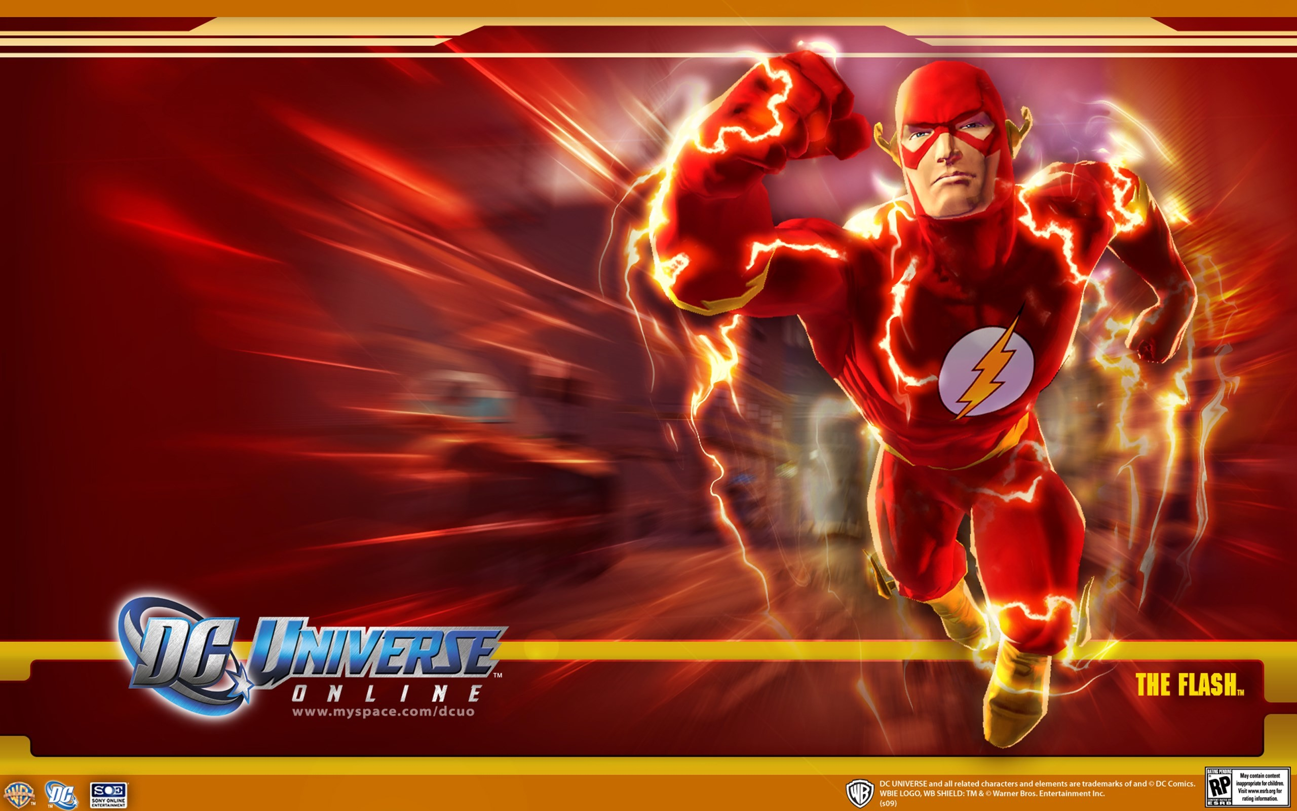 The Flash – DC Universe Online Wallpaper