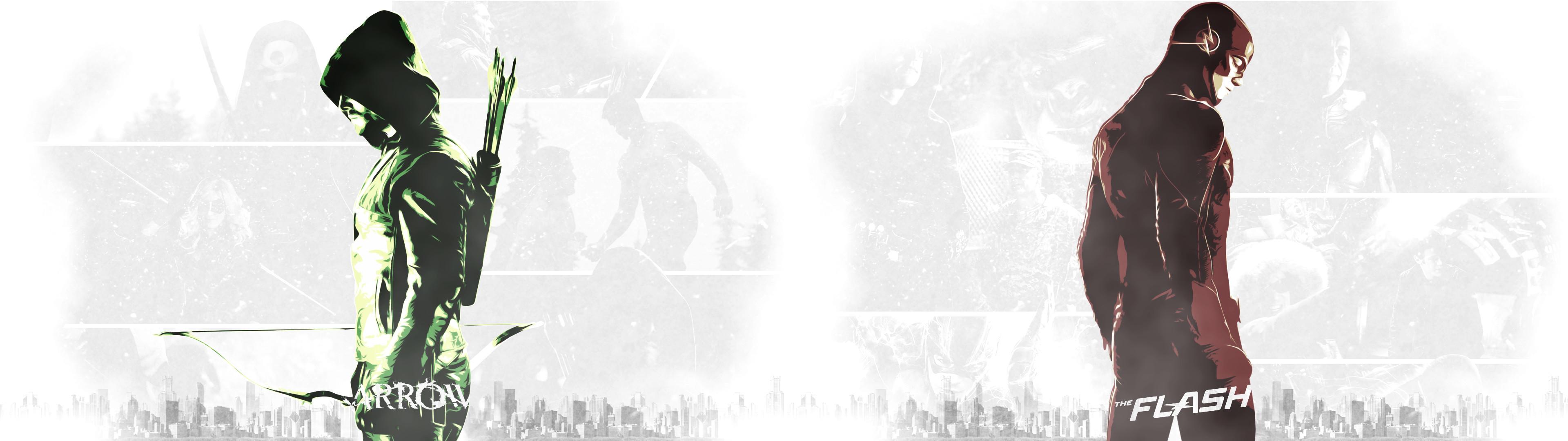Arrow and Flash HD Wallpaper – WallpaperSafari