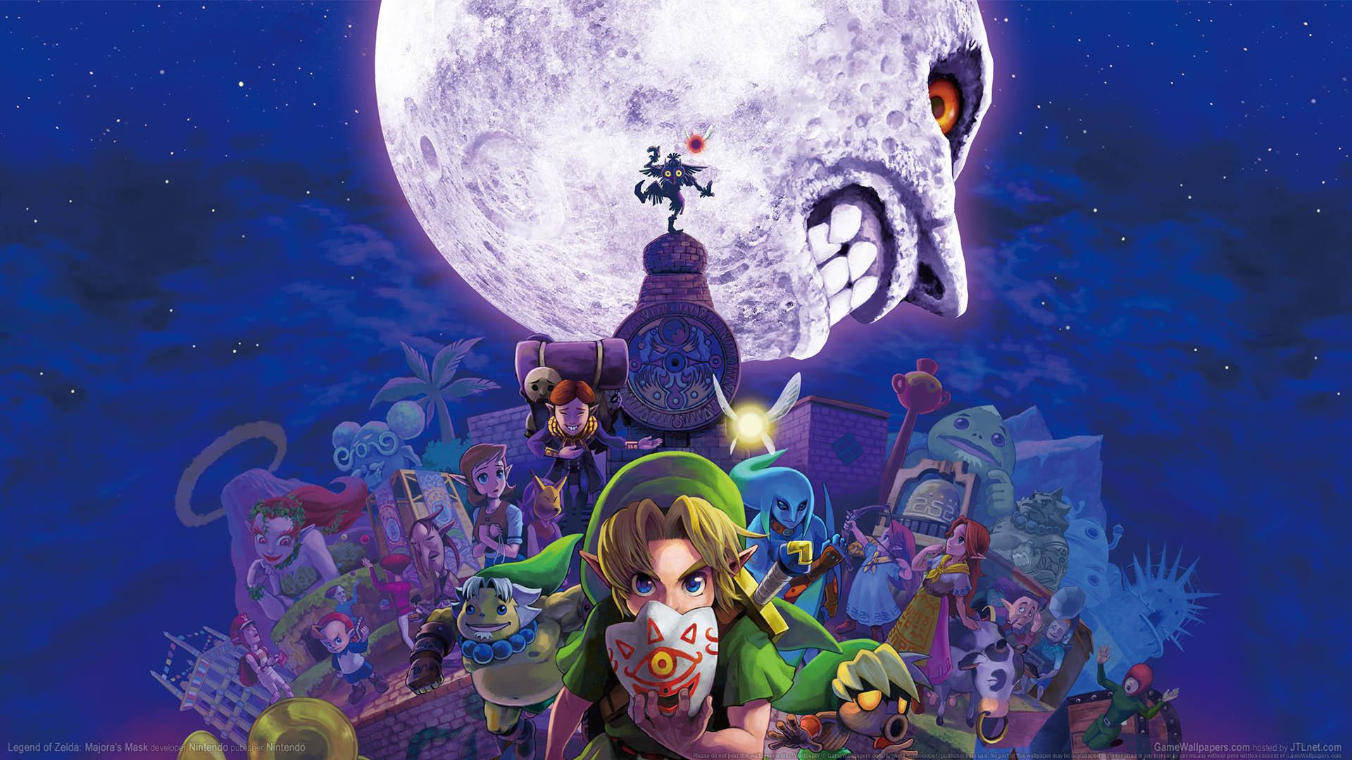 … Legend of Zelda: Majora's Mask wallpaper or background 01
