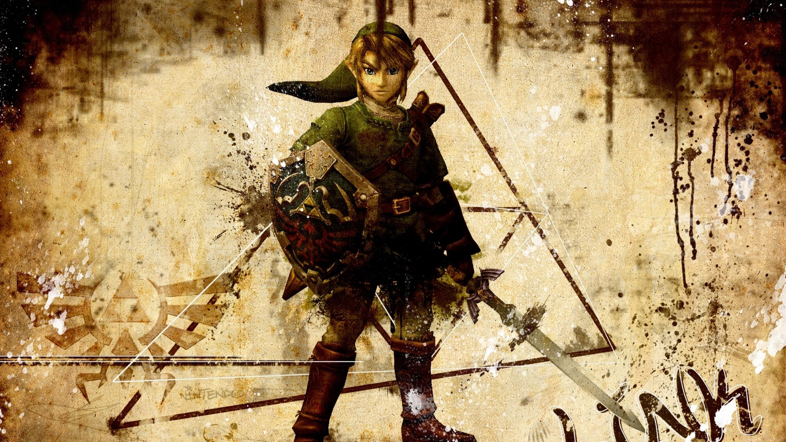 Preview wallpaper the legend of zelda, character, arm, sword, look, zelda