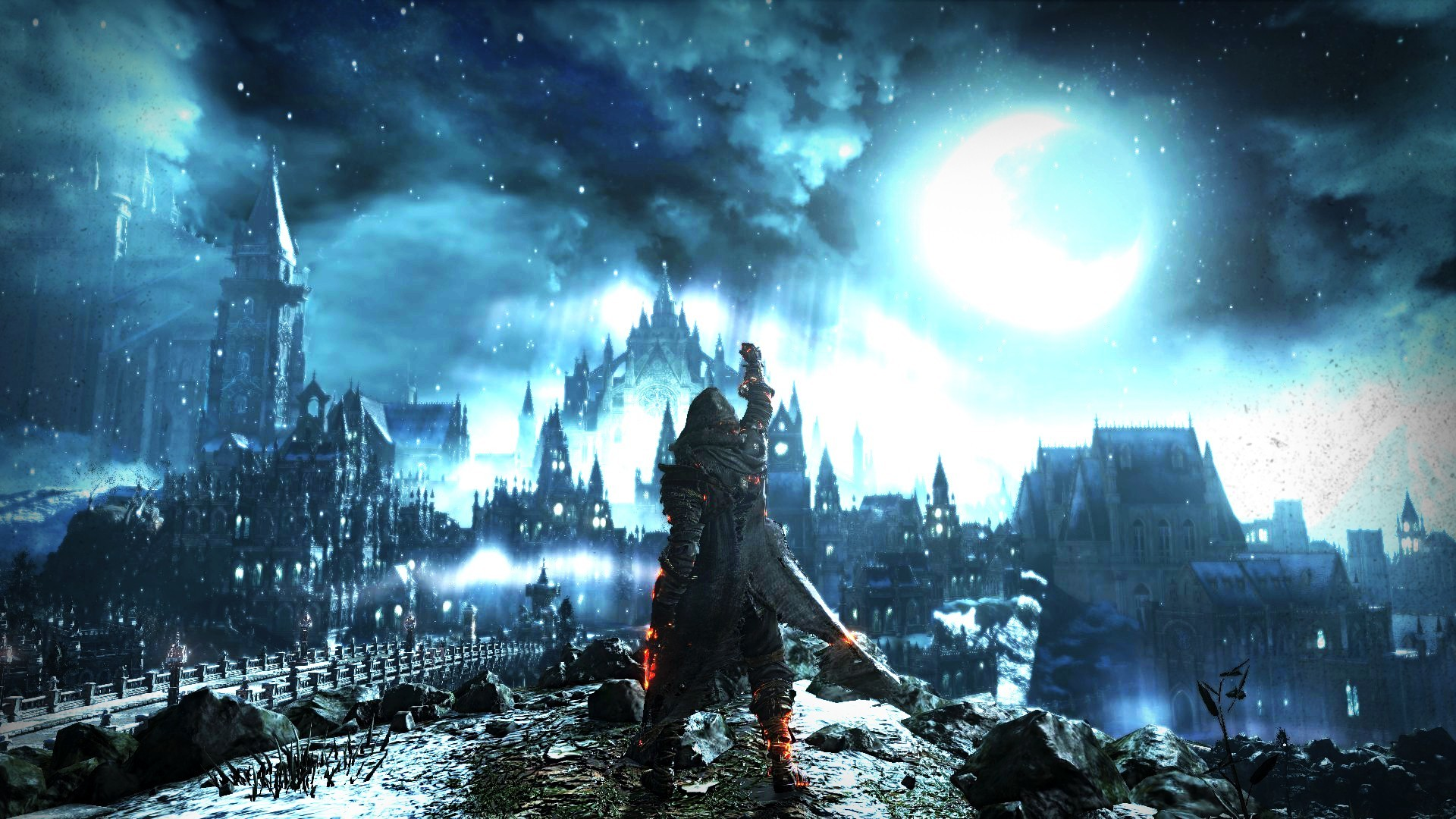 General Dark Souls Moon architecture Dark Souls III