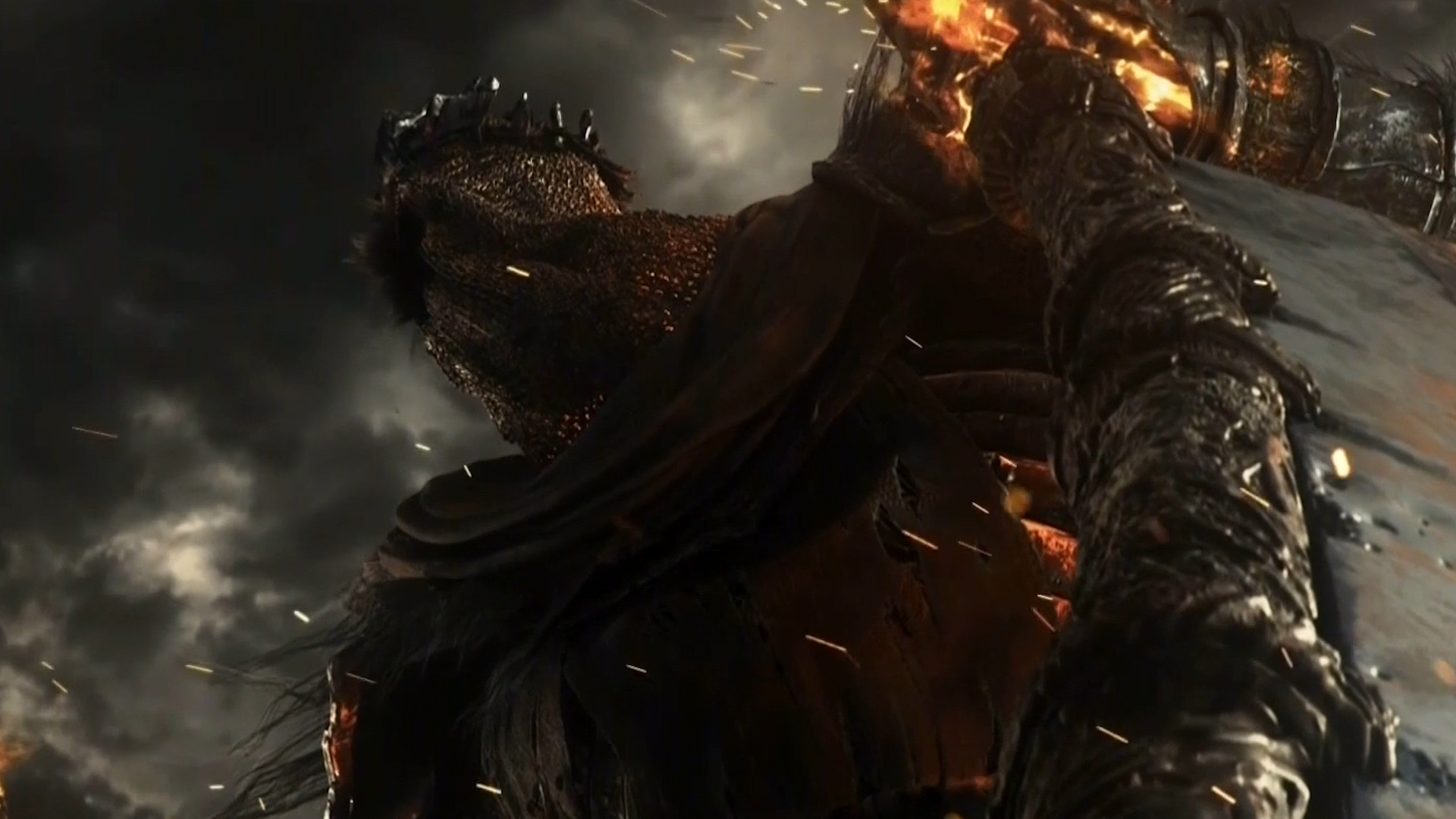The setting of Dark Souls 3 seems to be a Post Apocalyptic world where the  theme of flames is heavily shown and old civilization ruins are apparent.