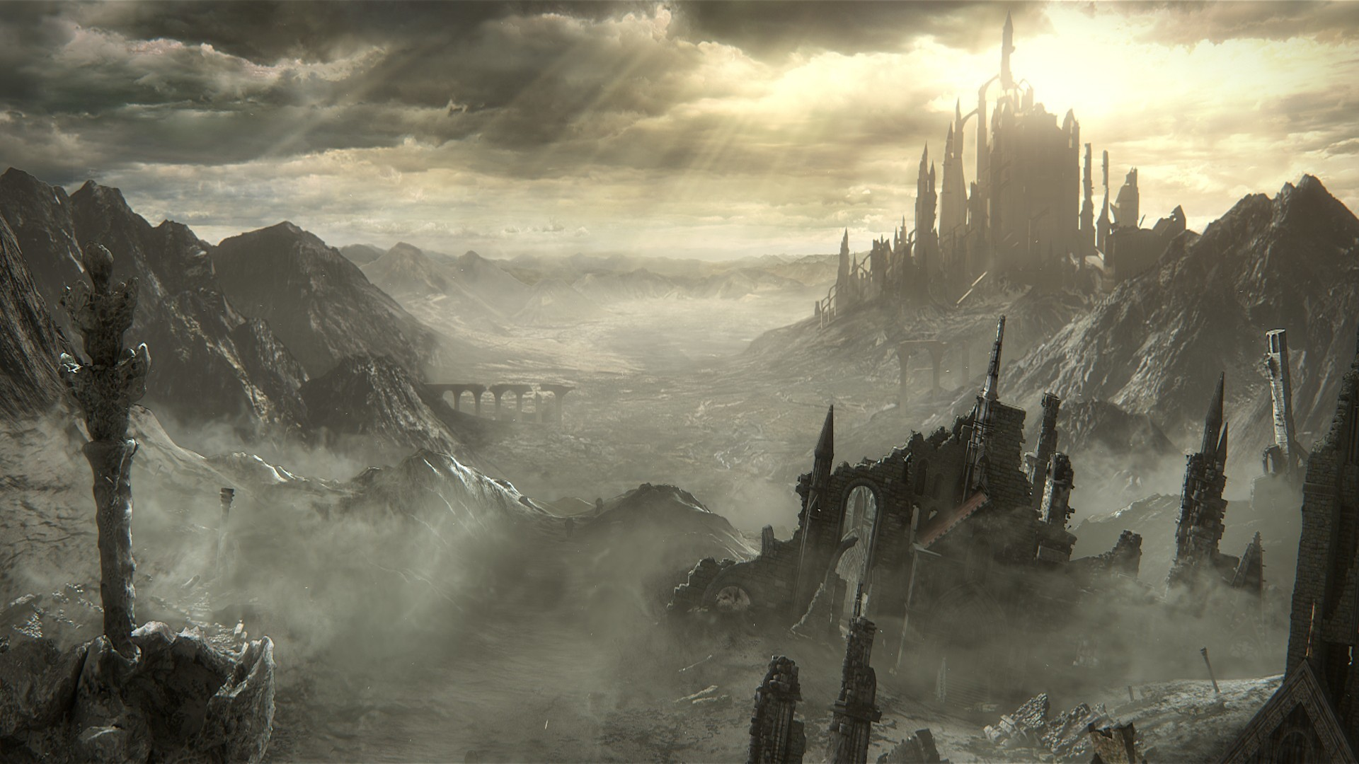 General Dark Souls III Dark Souls Gothic midevil dark video games  knight fire fighting sword