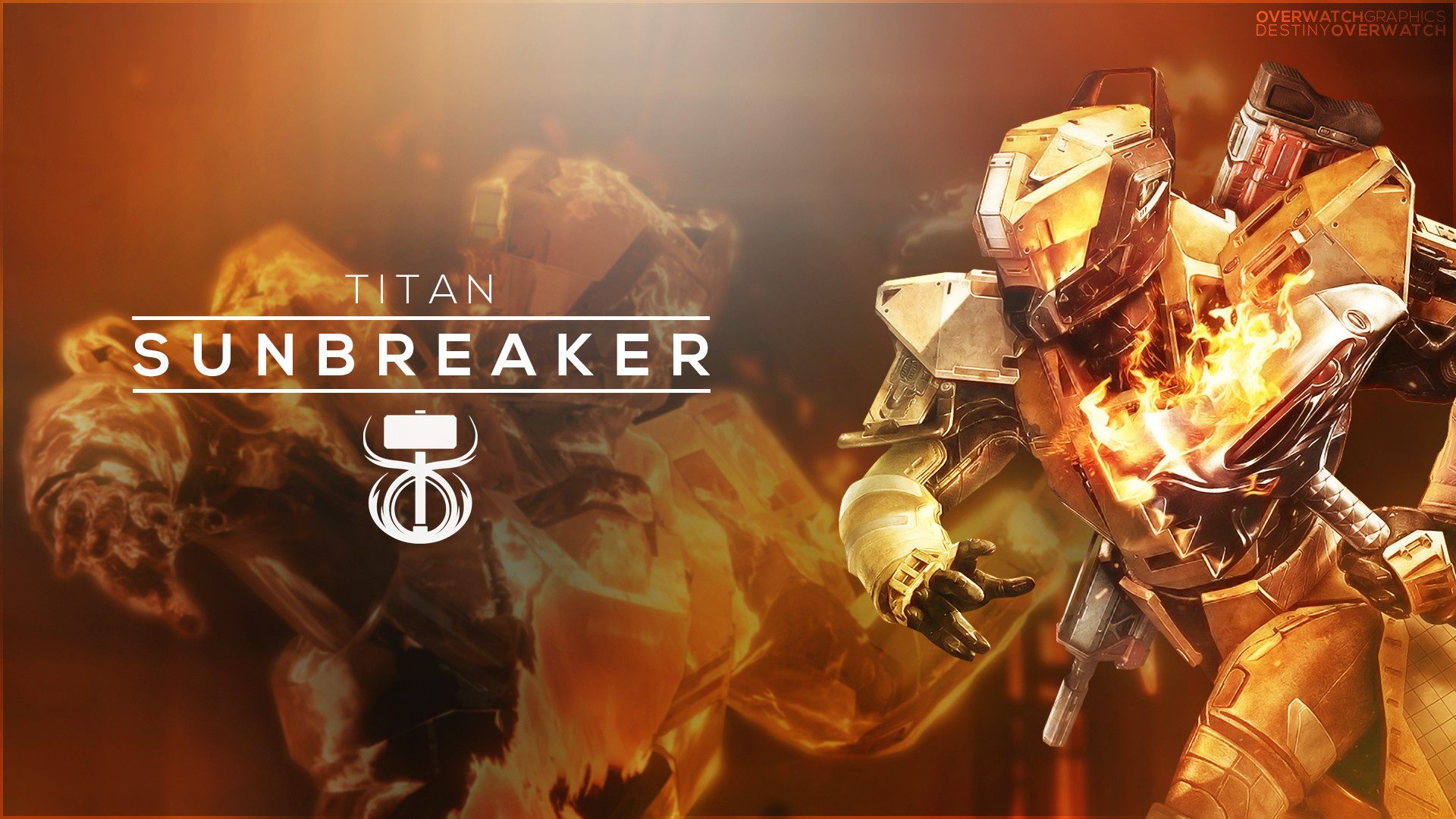 … OverwatchGraphics Destiny the Game – Sunbreaker Wallpaper by  OverwatchGraphics