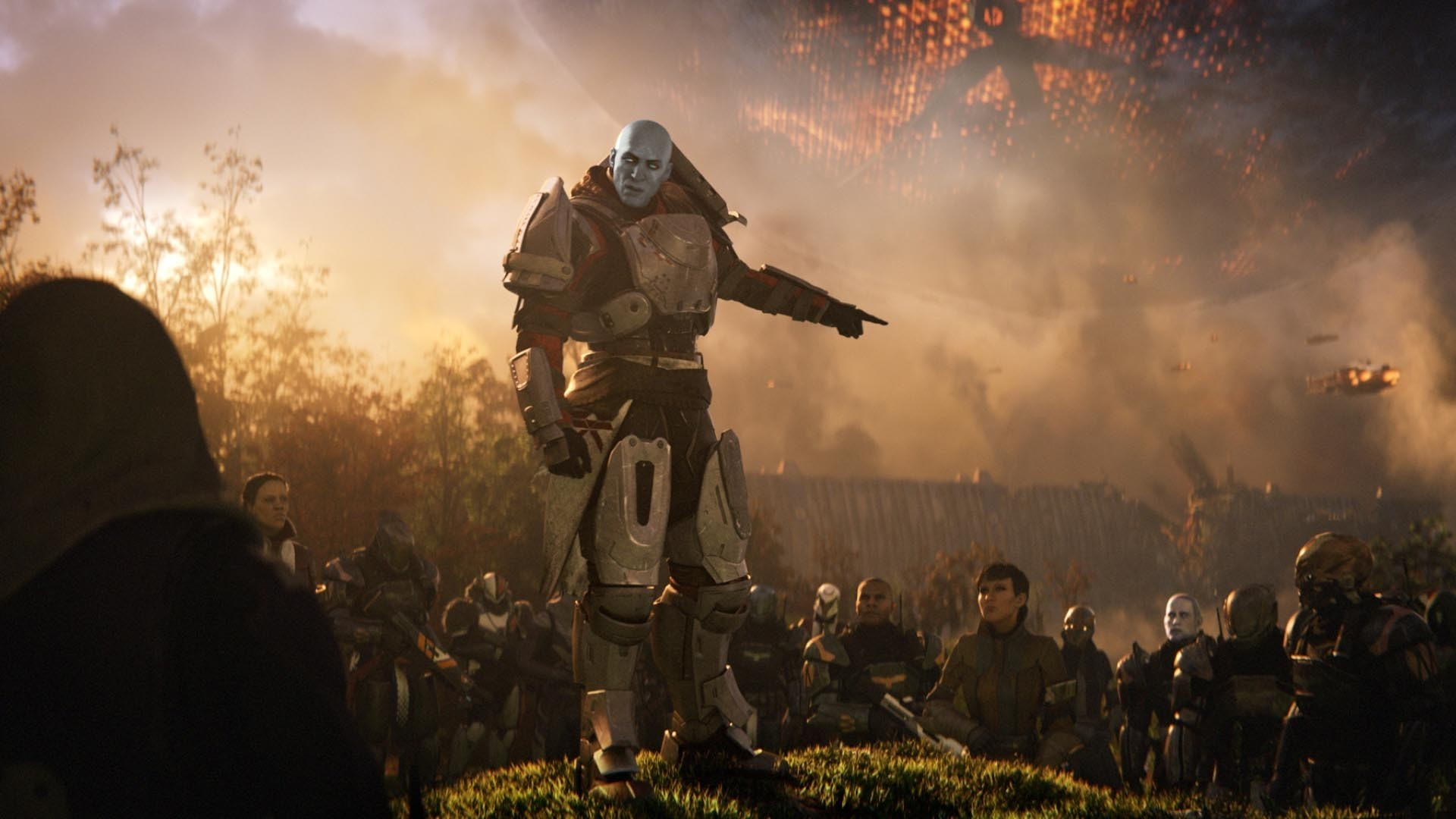 Let me know what you think about the images below: Also take a look at the  Destiny 2 trailer breakdown.