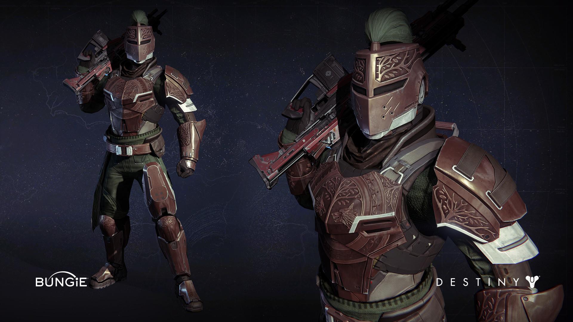 ArtStation – Destiny: Titan Iron Banner Armor, James Yavorsky