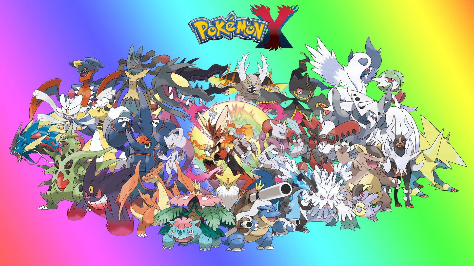 pokemon mega evolutions by zupertompa fan art wallpaper games 2014 .