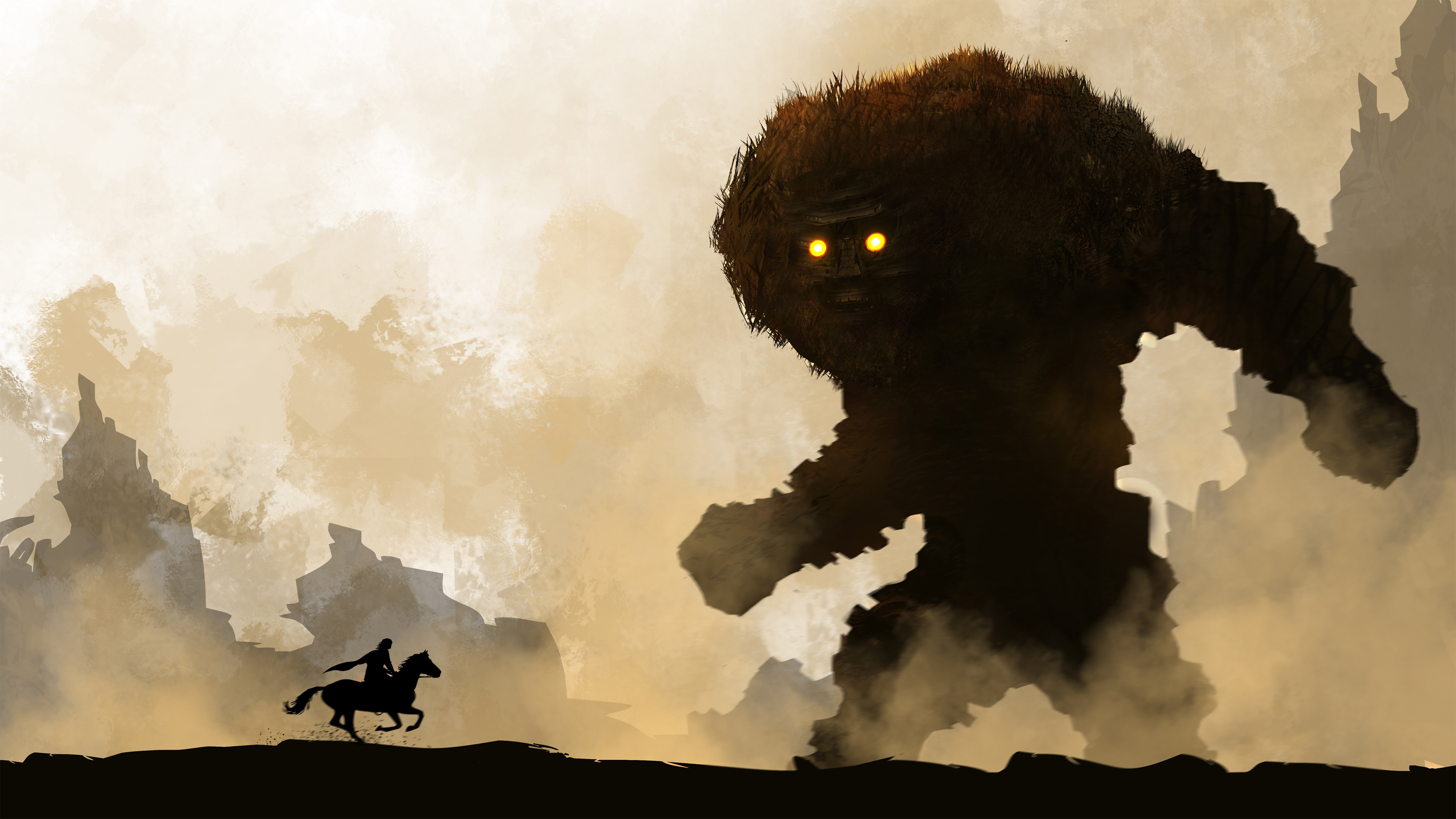Download Wallpaper · ps4 remakeshadow of the colossus