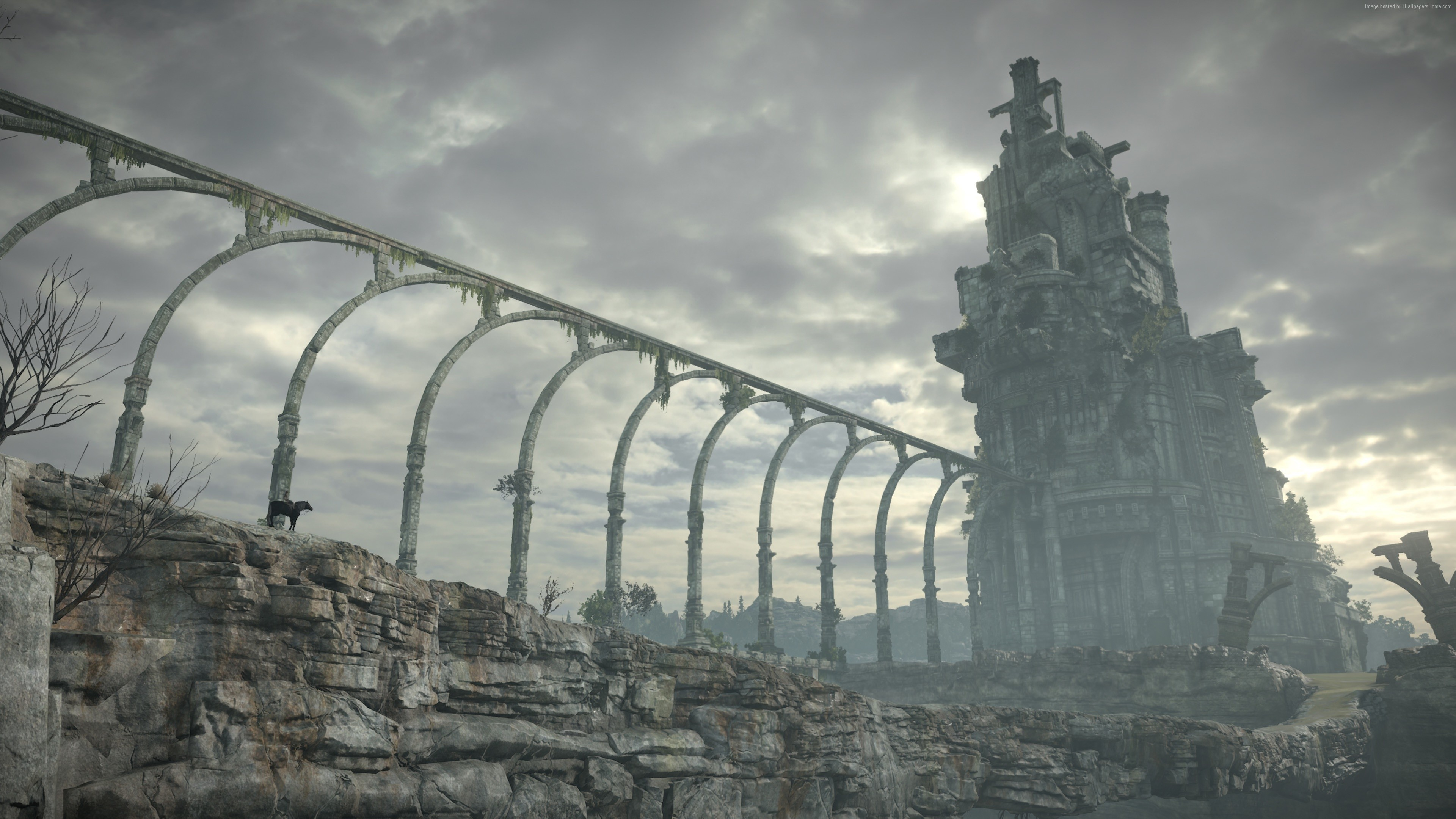Shadow of the Colossus, 4k, screenshot, E3 2017 (horizontal) …