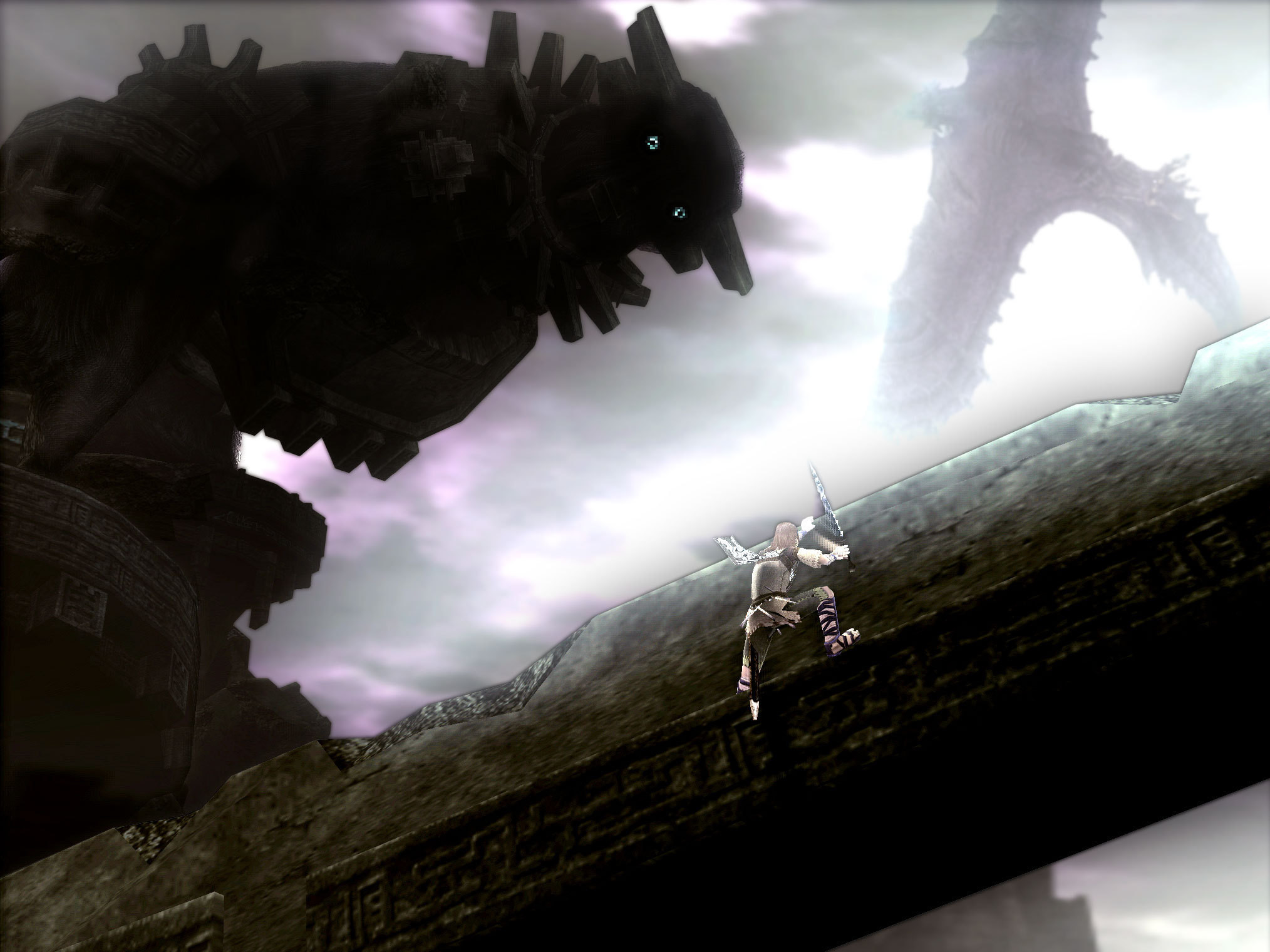 Shadow of the Colossus images Dont fall off HD wallpaper and background  photos