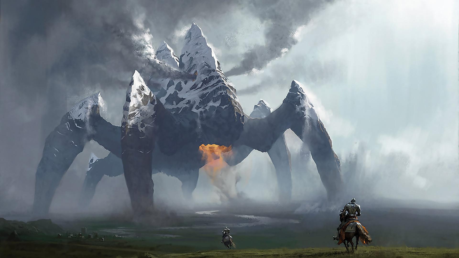 giant monster wallpaper