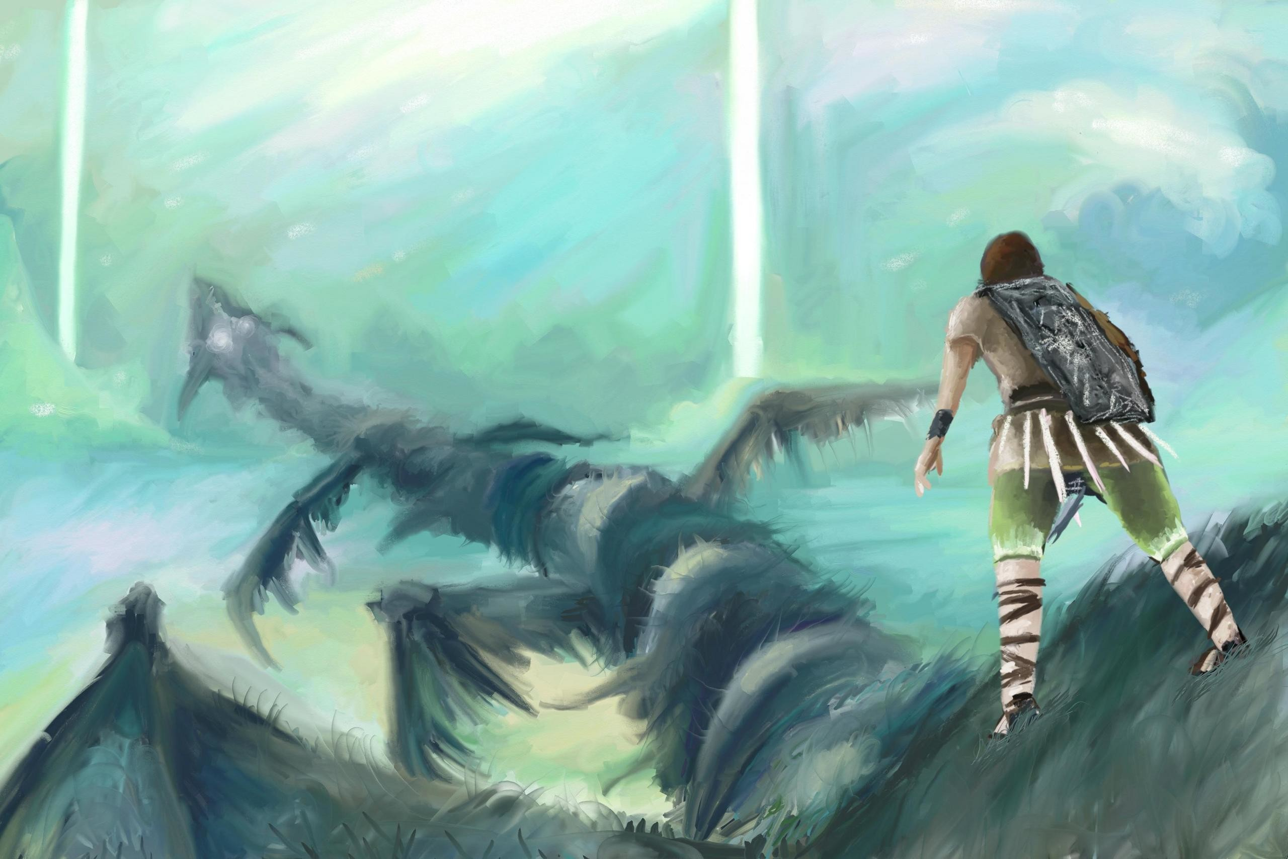 Shadow of the Colossus images whach your step HD wallpaper and background  photos