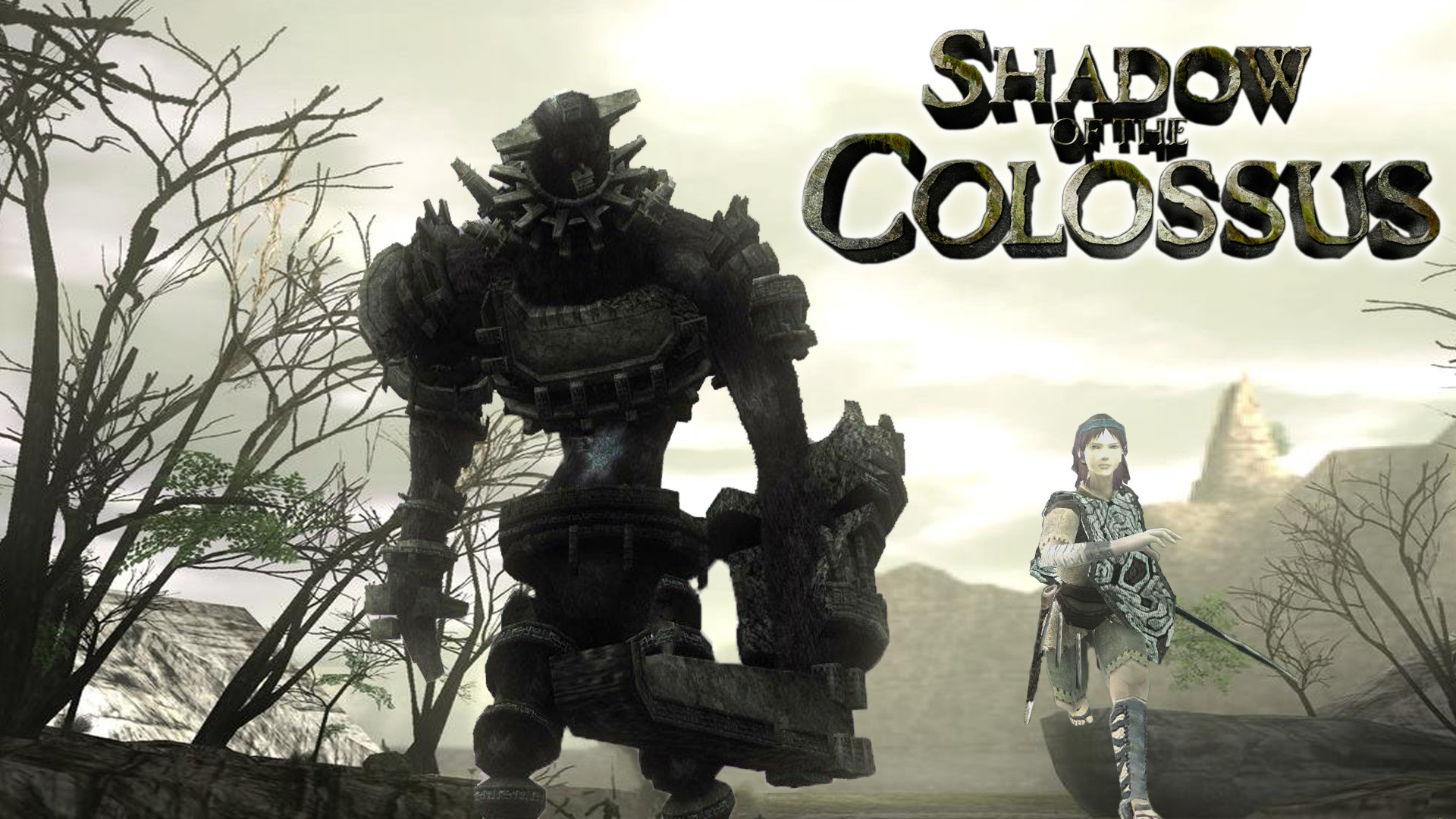… Wallpaper Shadow of The Colossus by Roxxas21