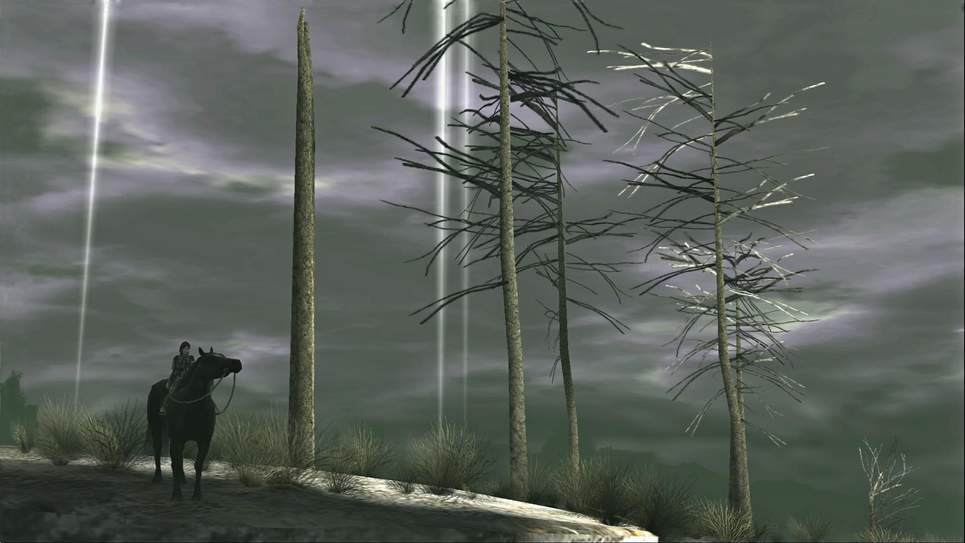 Image – Shadow-of-the-Colossus-SOTC-Wallpaper-Basaran-Storm-Echo-01darker.jpg  | Team Ico Wiki | FANDOM powered by Wikia