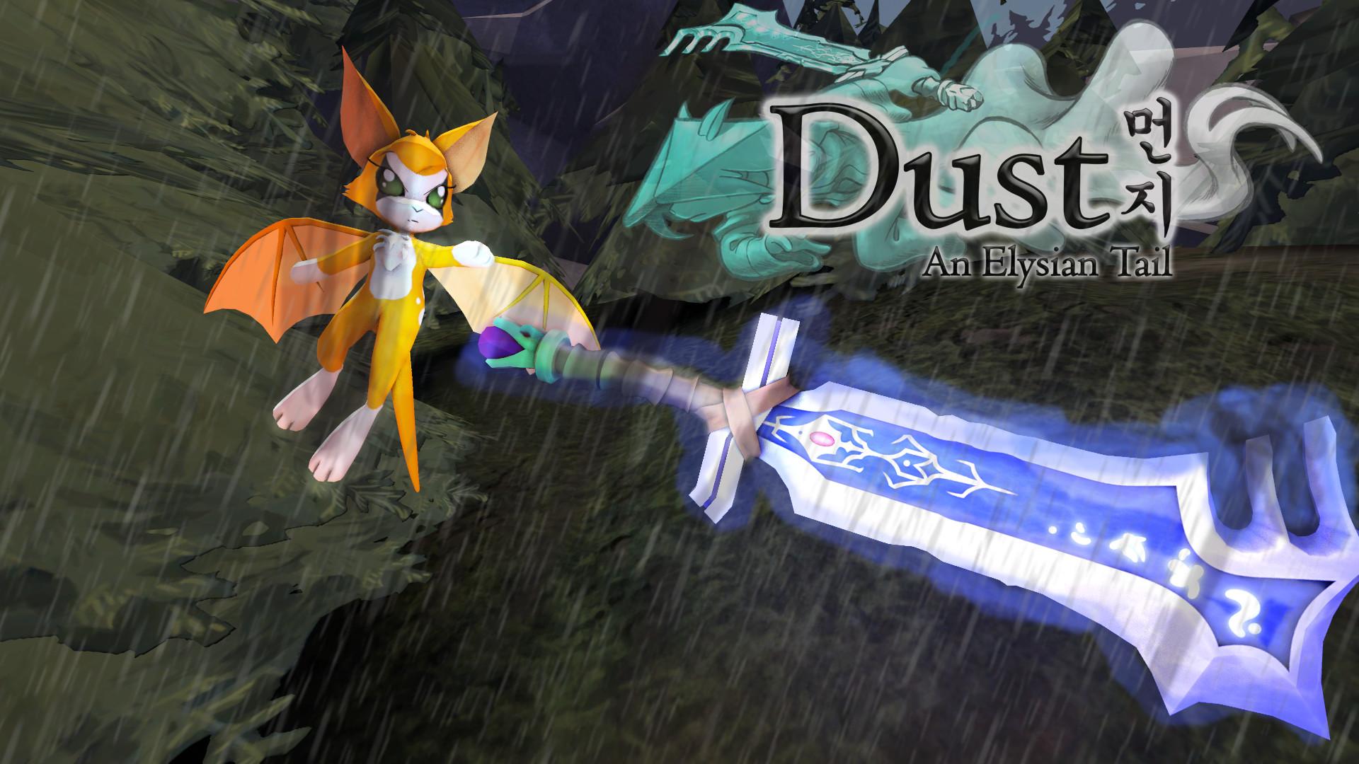 … Fidget Chases Ahrah :Dust An Elysian Tail SFM by ArtistKnight332