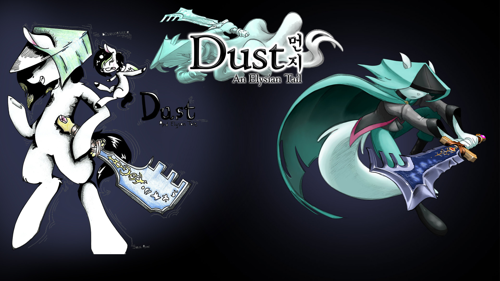 … Dust An Elysian Tail and a Diswasher Lets Play by TheDiswasher16