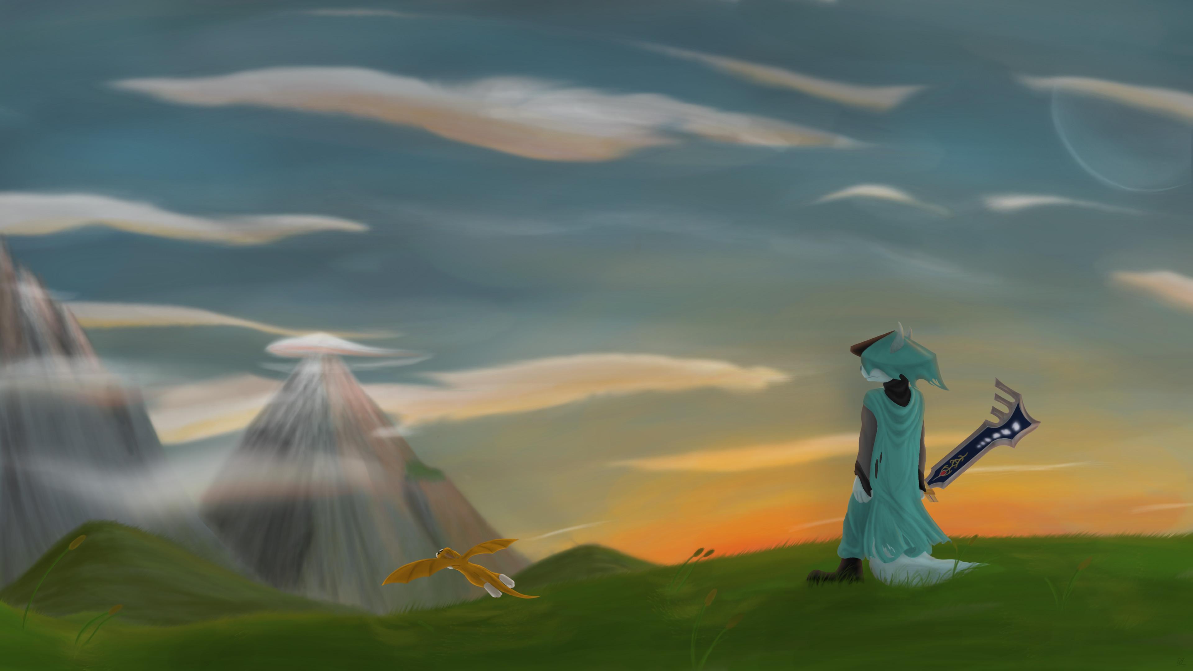 … Dust: An elysian Tail (Final) by CristallumWolf