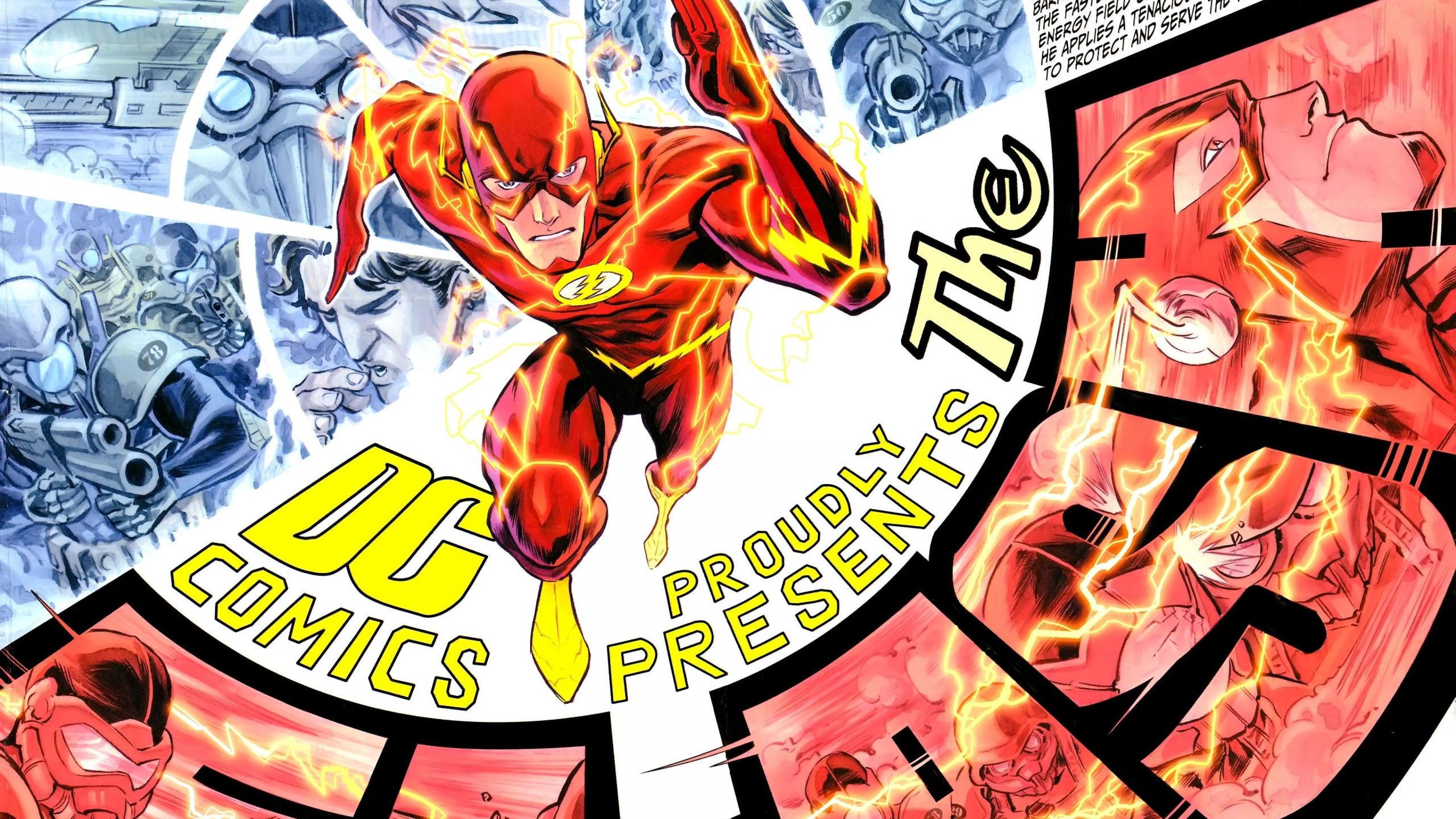 <b>The Flash</b>: <b>Comic Book<