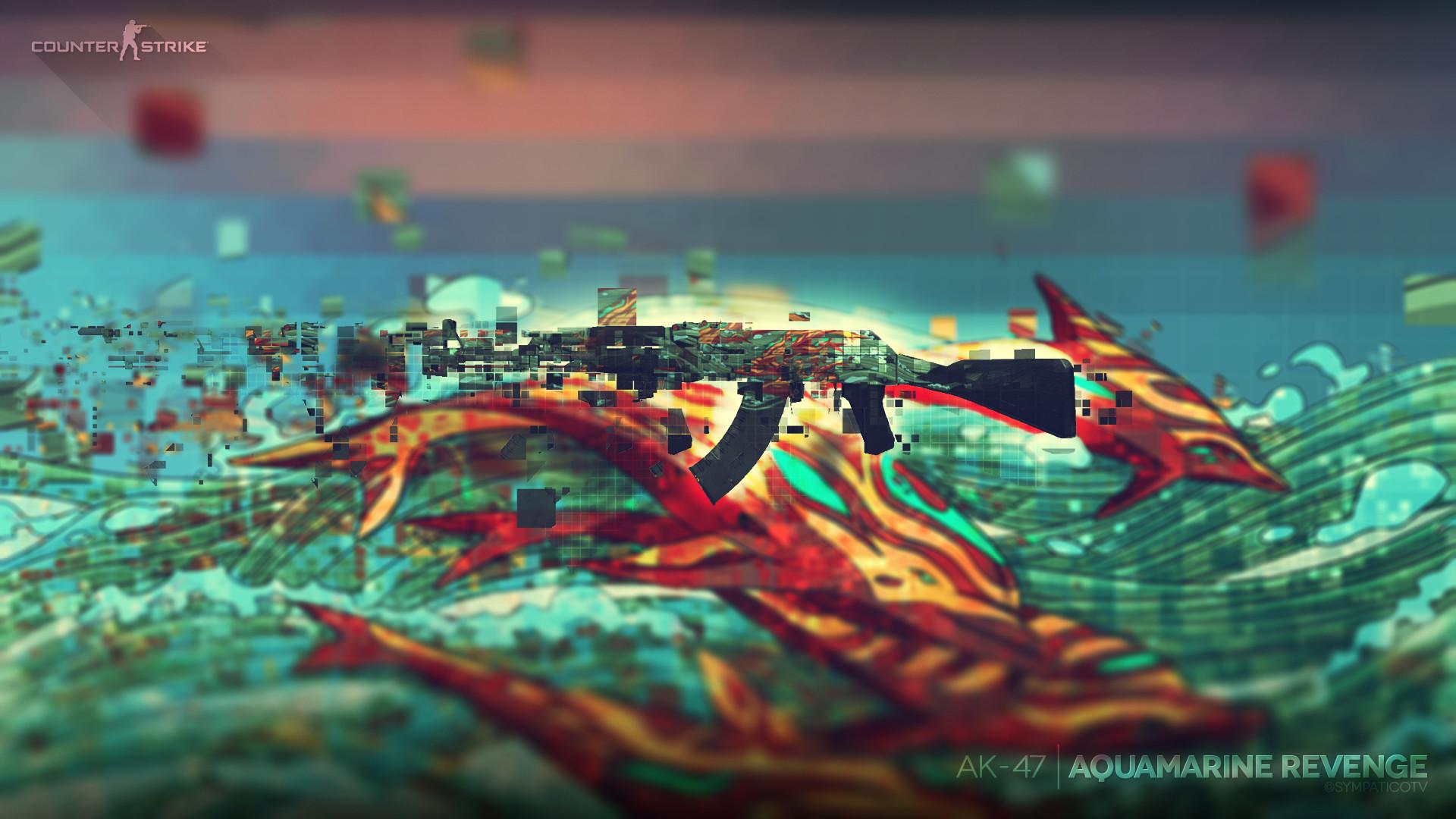 Aquamarine Revenge. 1080p. CSGO …