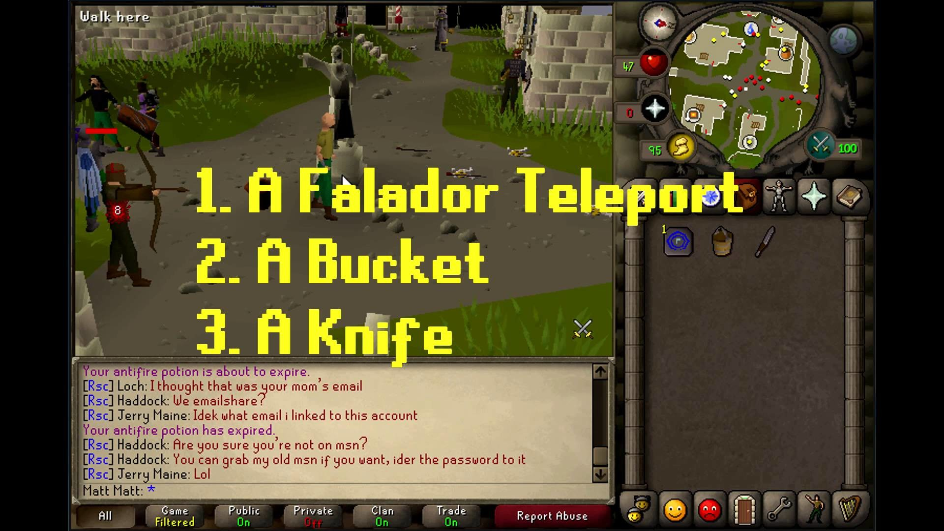 How To: Make a bucket of sap Oldschool Runescape (OSRS)