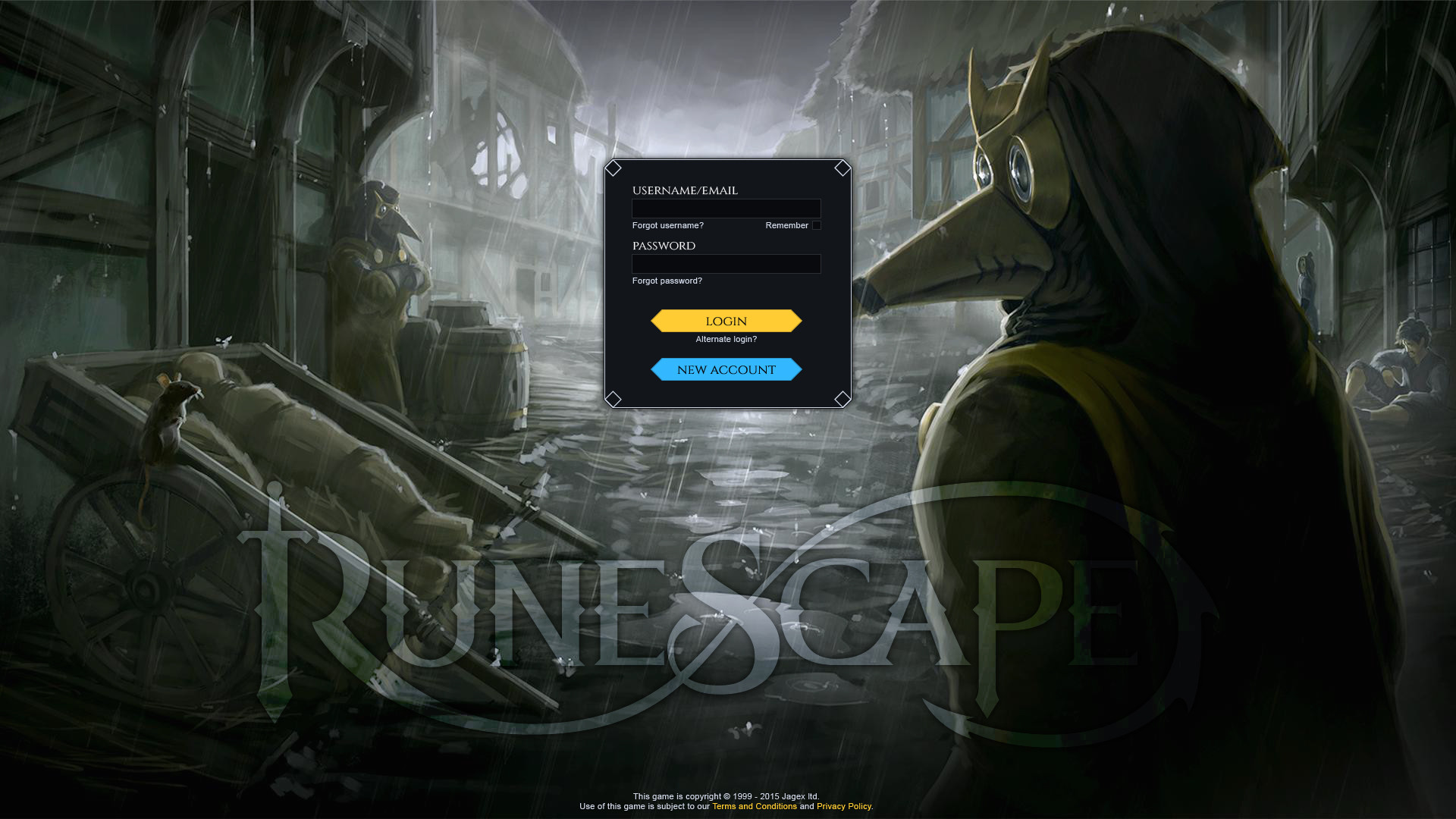 Here's an example of what I think the new login could look like.