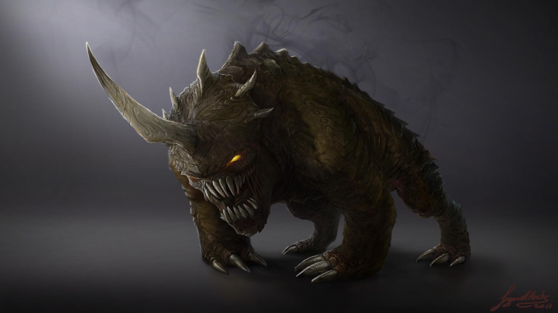 … Dark Beast by RS-LegendArts