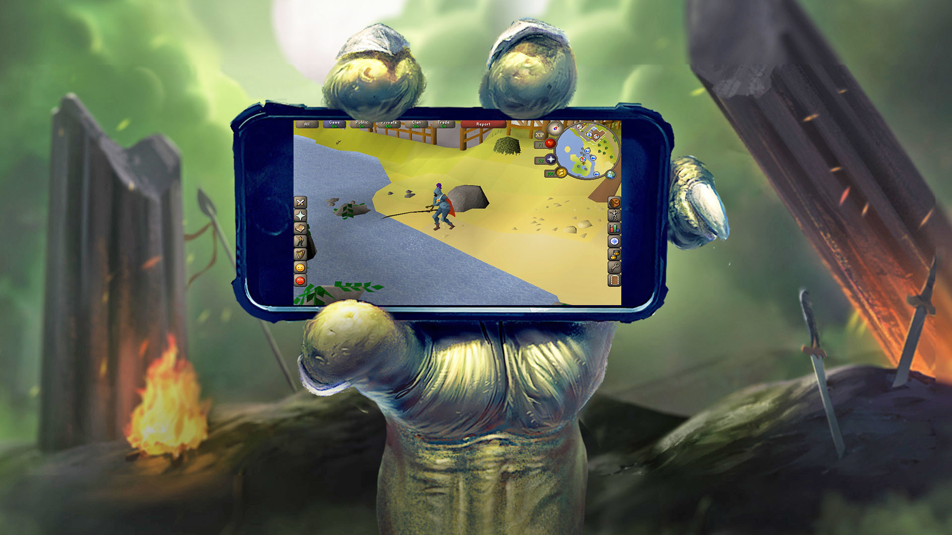RuneScape's modern and classic versions headed to your nearest phone and  tablet – Android Authority