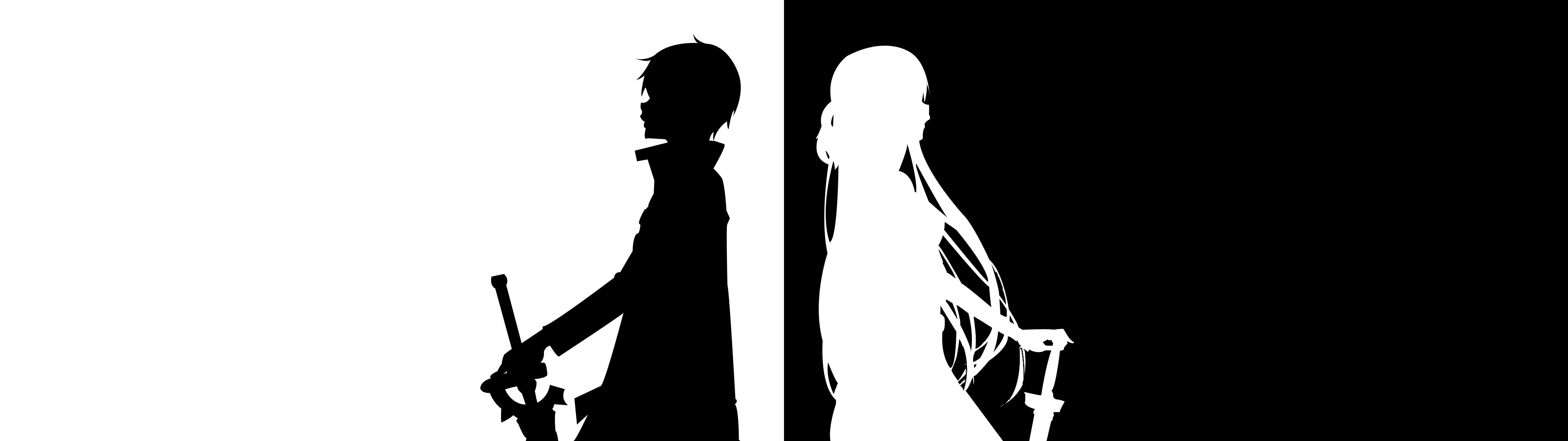Minimal Sword Art Online [Dual-Screen] [3840×1080] …