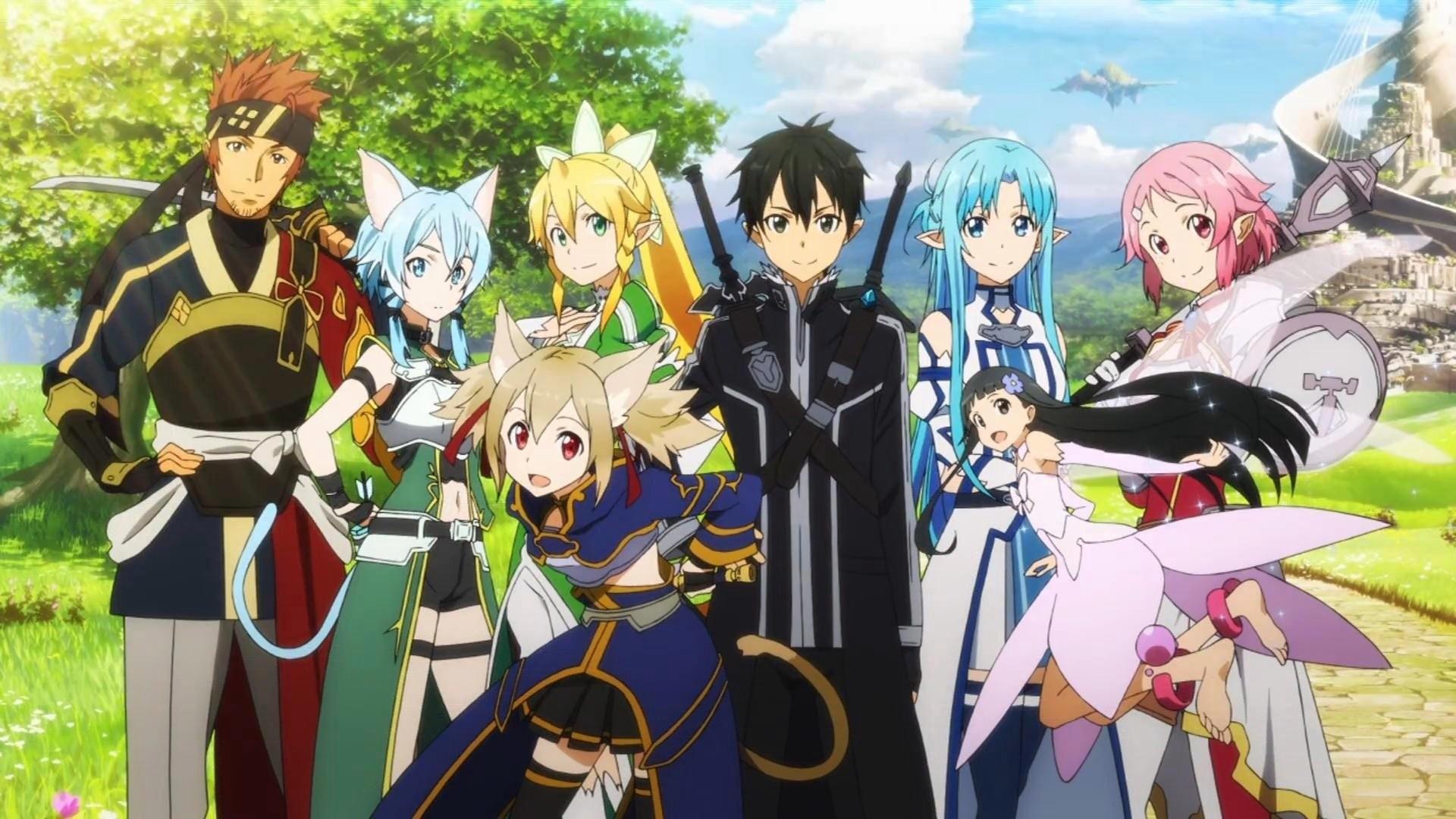 HD Wallpaper   Background ID:640962. Anime Sword Art Online II