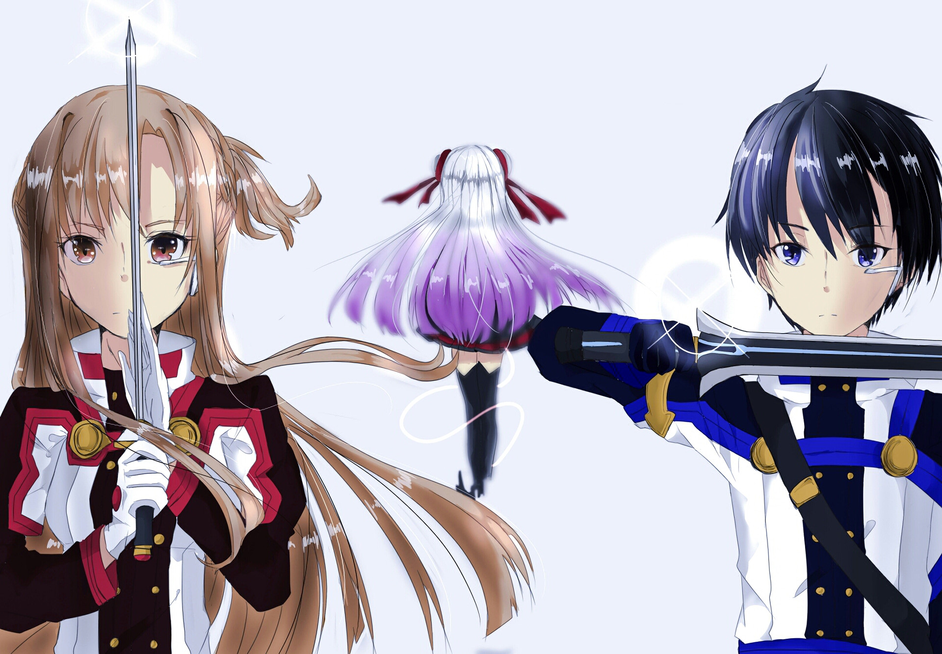 Download Asuna X Kirito wallpapers to your cell phone – alfheim .