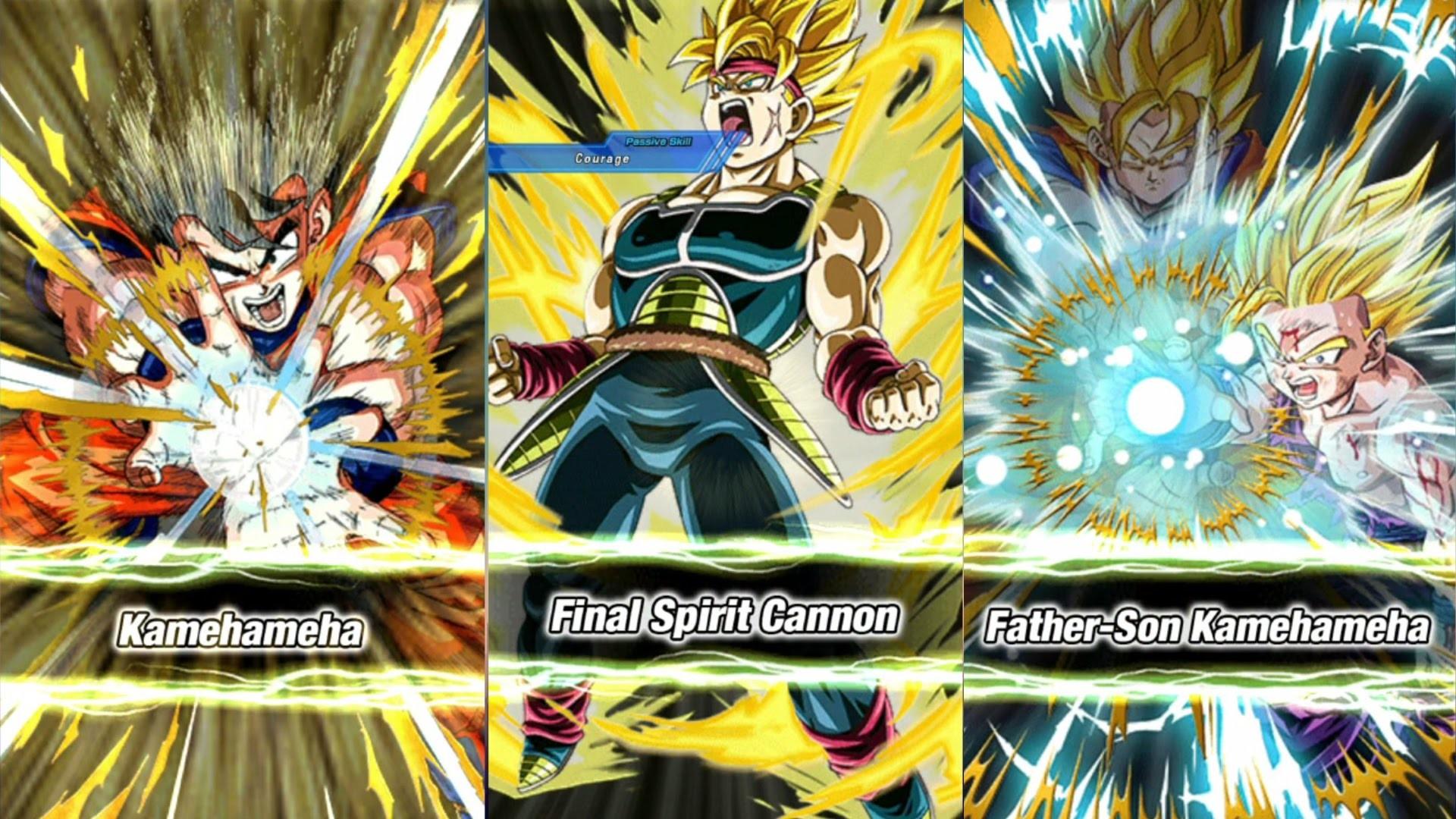 Dragon Ball Dokkan Battle SSJ2 Gohan/SSJ Bardock Ultimate Attacks/Random  Character unlocking