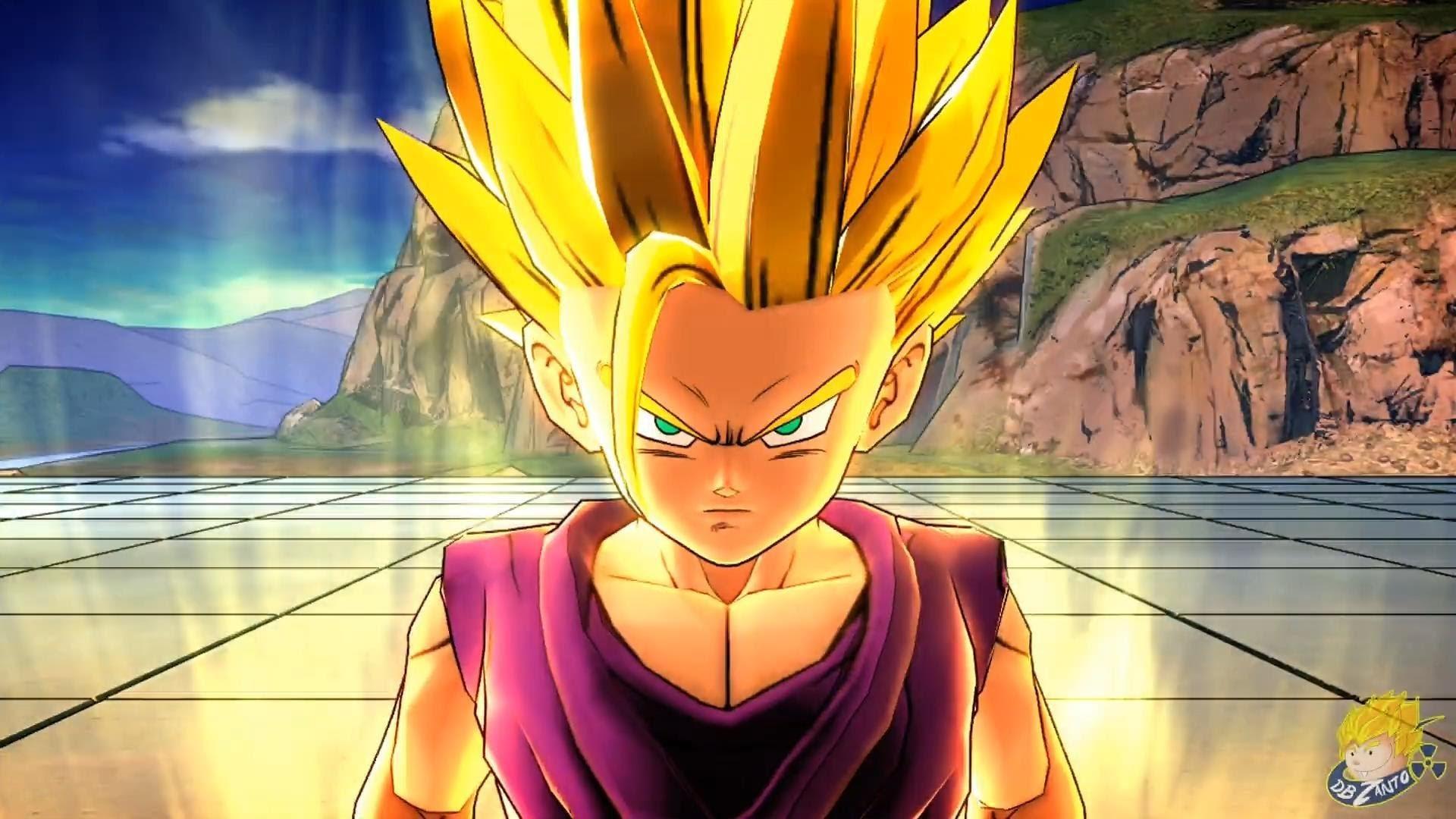 Dragon Ball Z: Battle of Z – | Teen Gohan Transforms Into A Super Saiyan 2  |【FULL HD】 – YouTube