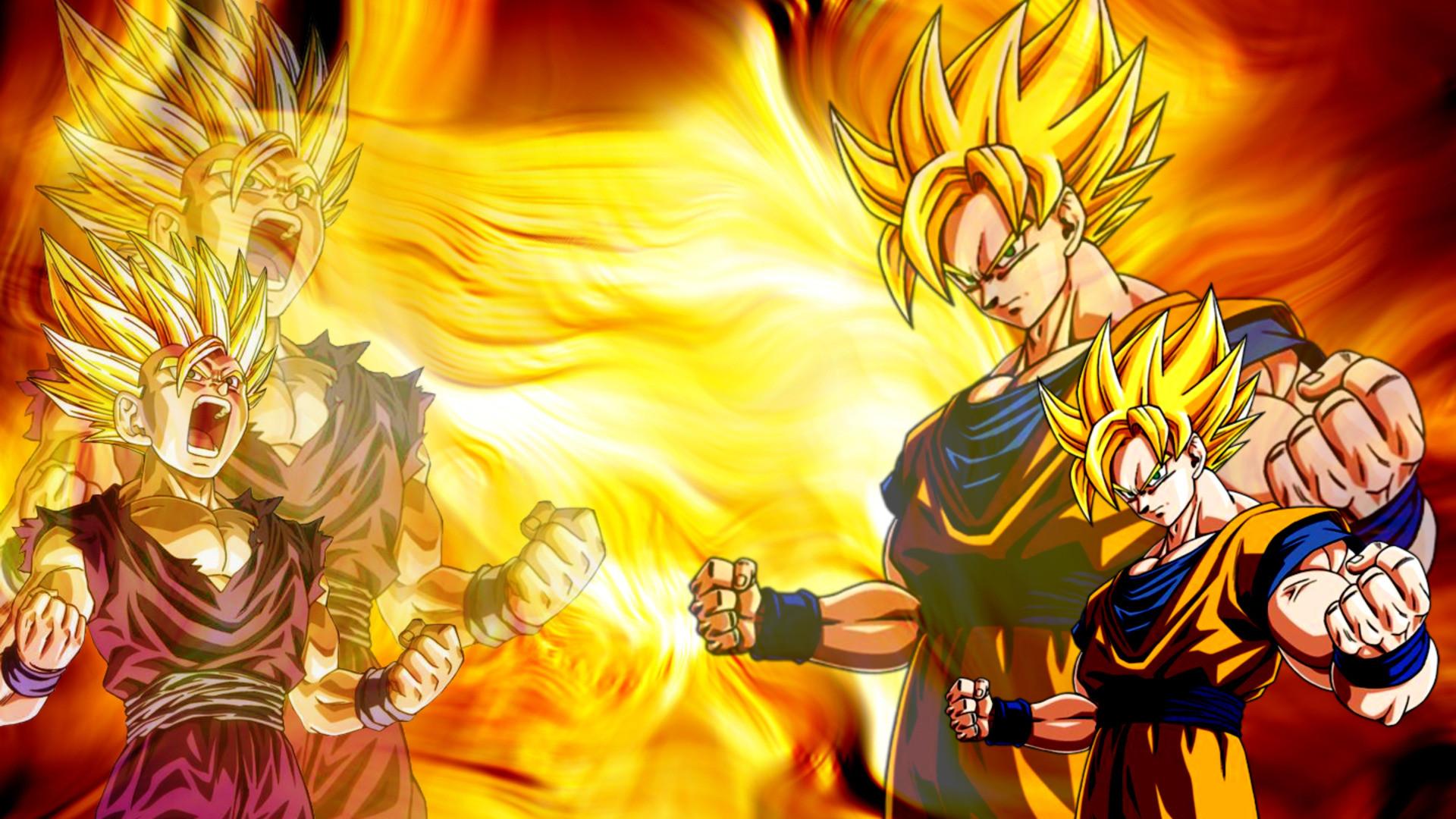HD Super Saiyan Goku Wallpaper Full Size – HiReWallpapers 836