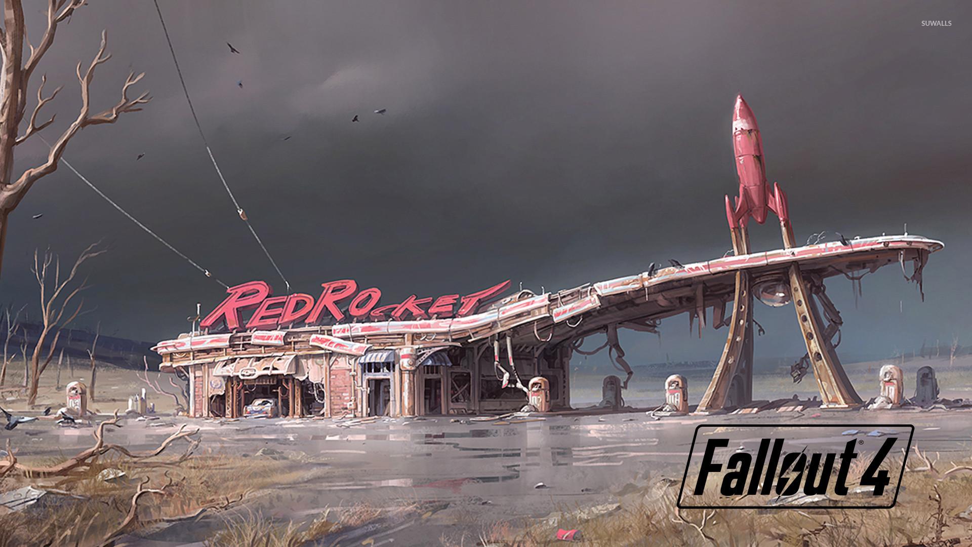 RedRocket in Fallout 4 wallpaper jpg