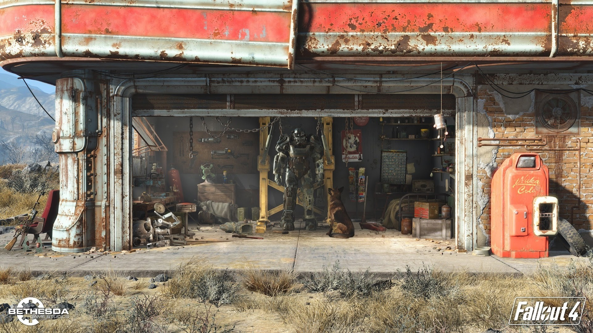 High Definition HD 1080p: (fits on: 1600×900, 1366×768,  1280×720). References: Fallout4.com …