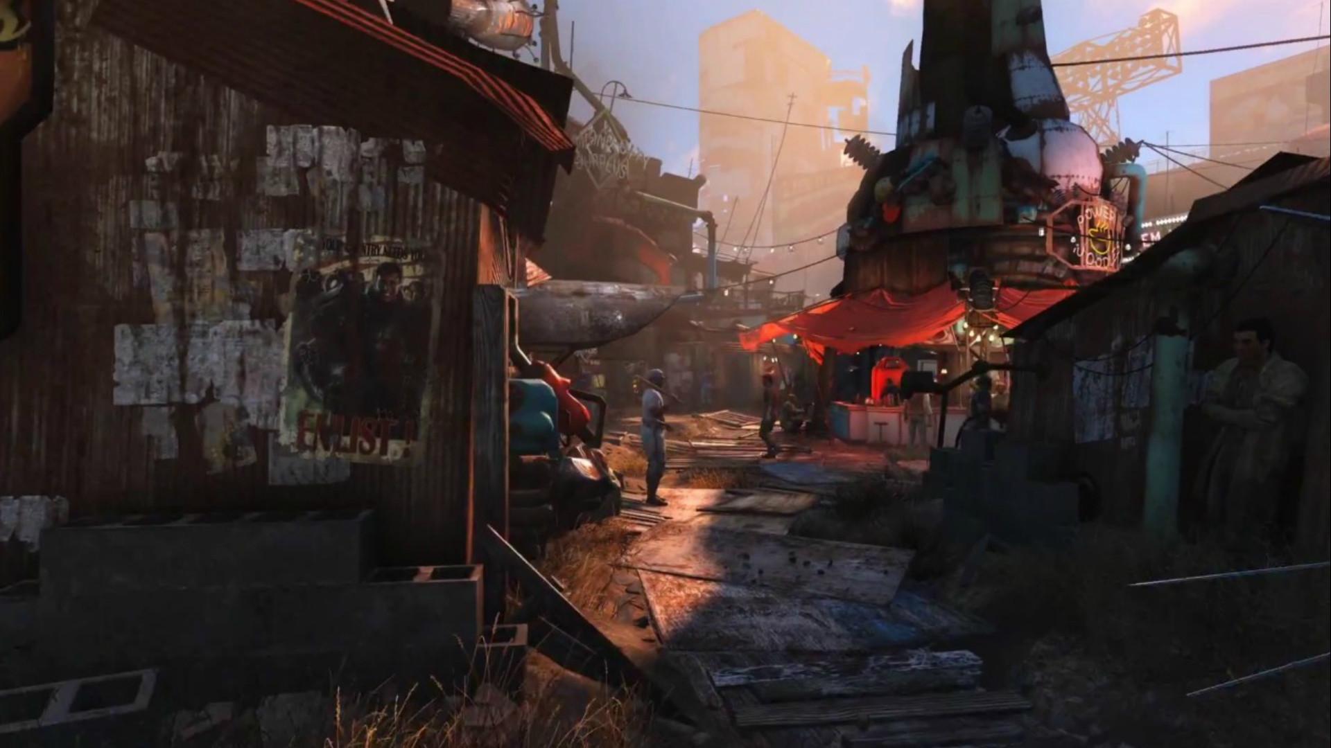 Fonds d'écran Fallout 4 – JustGeek · fallout 4 railroad wallpaper  …
