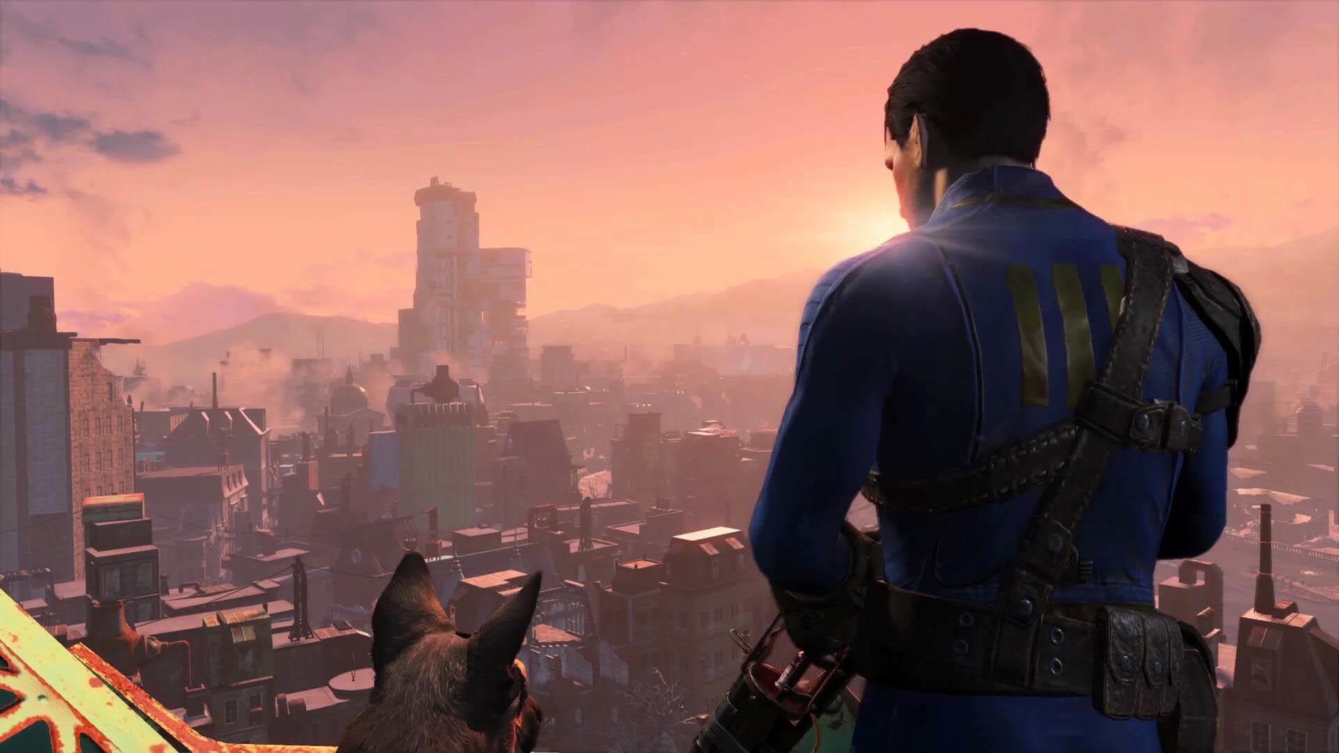 Fallout 4 – Boston Skyline wallpaper