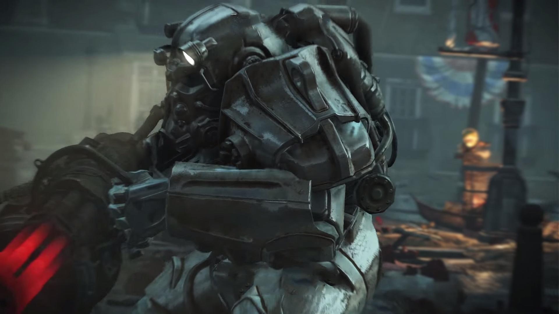 Fallout 4 – Brotherhood of Steel Armor Wallpaper [1920×1080] …
