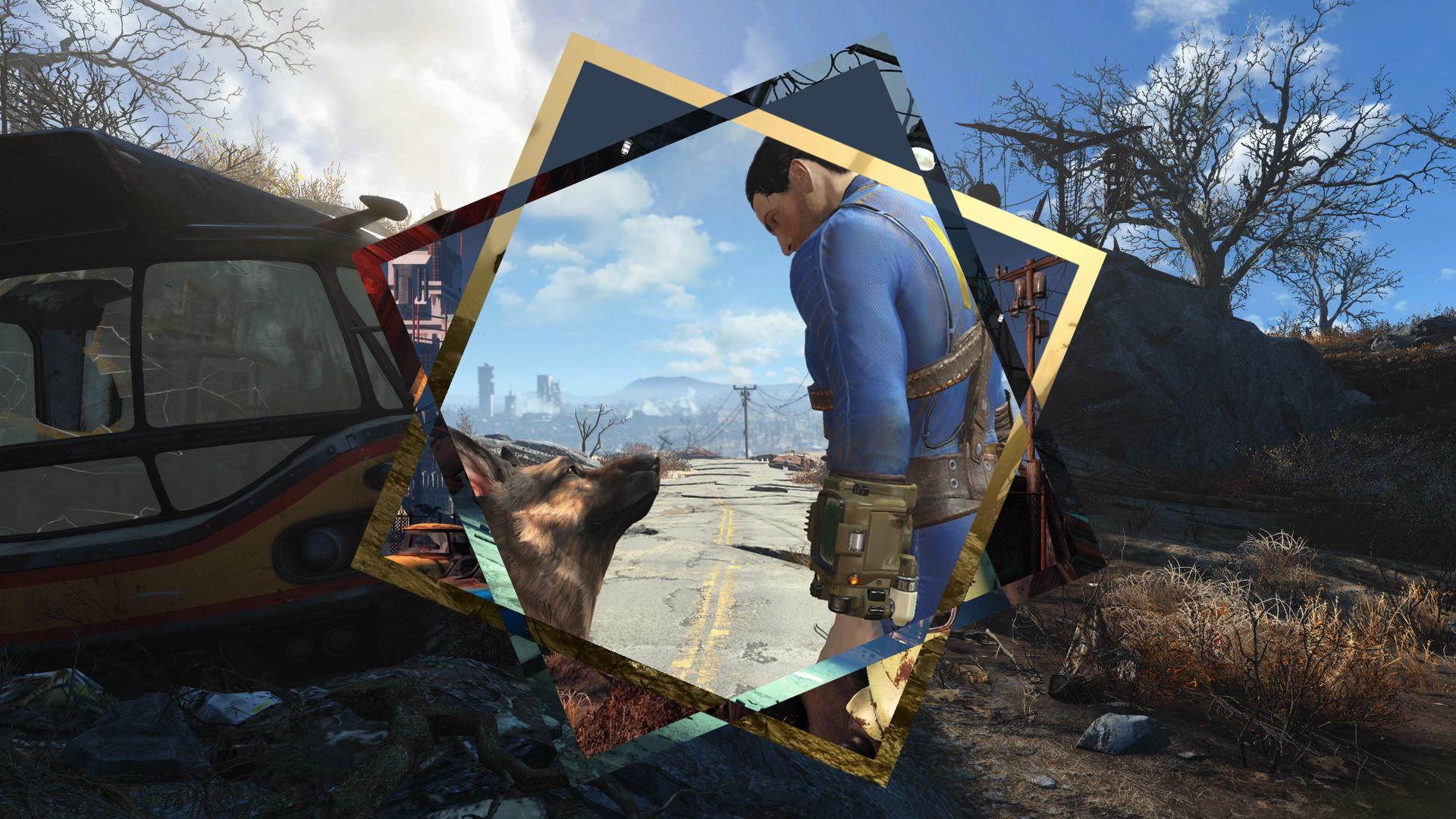 Fallout 4 Polyscape Style Wallpaper …