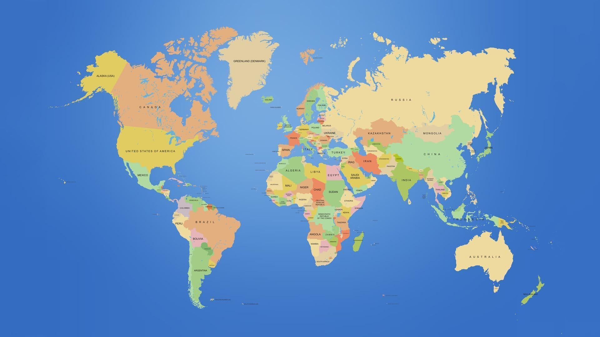 World Map Mural (P111501-0) – Mr Perswall Wallpapers – A photo .