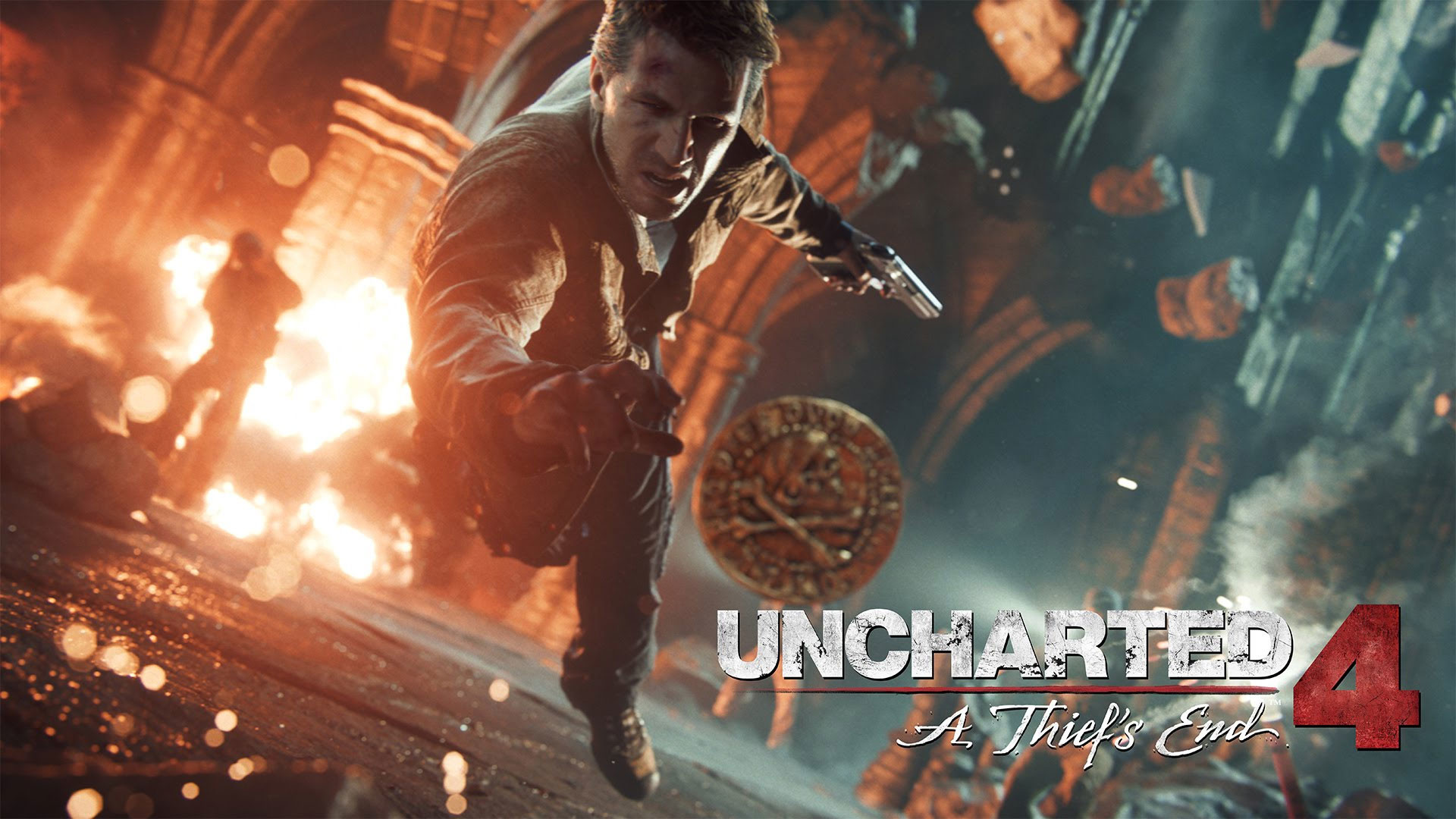 Uncharted 4 A Thief's End 4K Wallpaper …