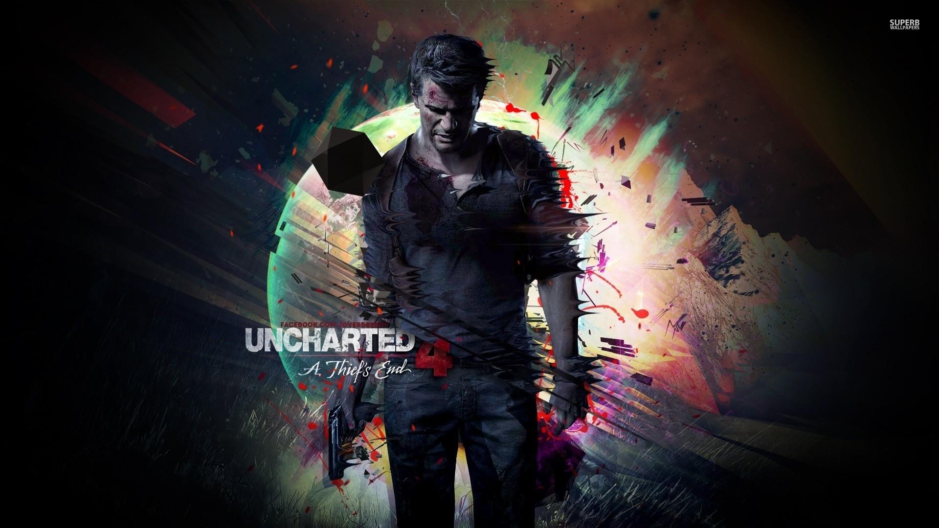 Uncharted 4 HD Wallpaper