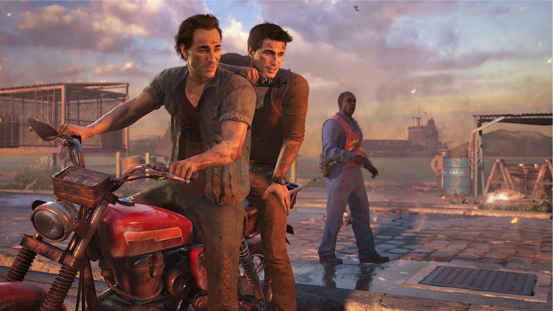 Uncharted 4: A Thief's End – Samuel Drake and Nathan Drake – Madagascar Car/