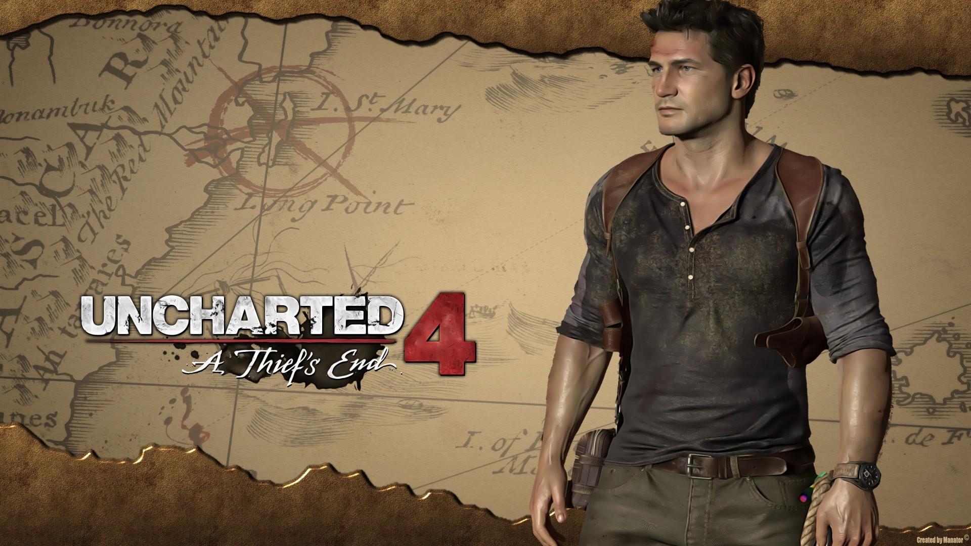 UNCHARTED 4 THIEFS END action adventure tps shooter platform poster  wallpaper | | 745711 | WallpaperUP
