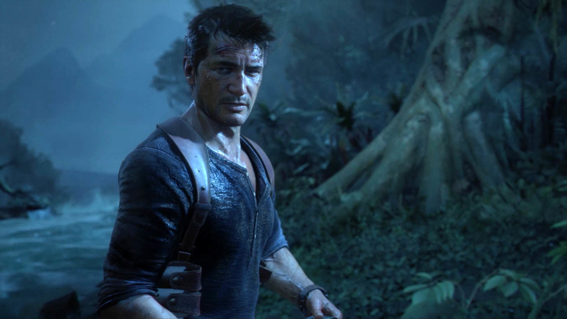 Nathan in the Jungle – Uncharted 4: A Thief's End wallpaper